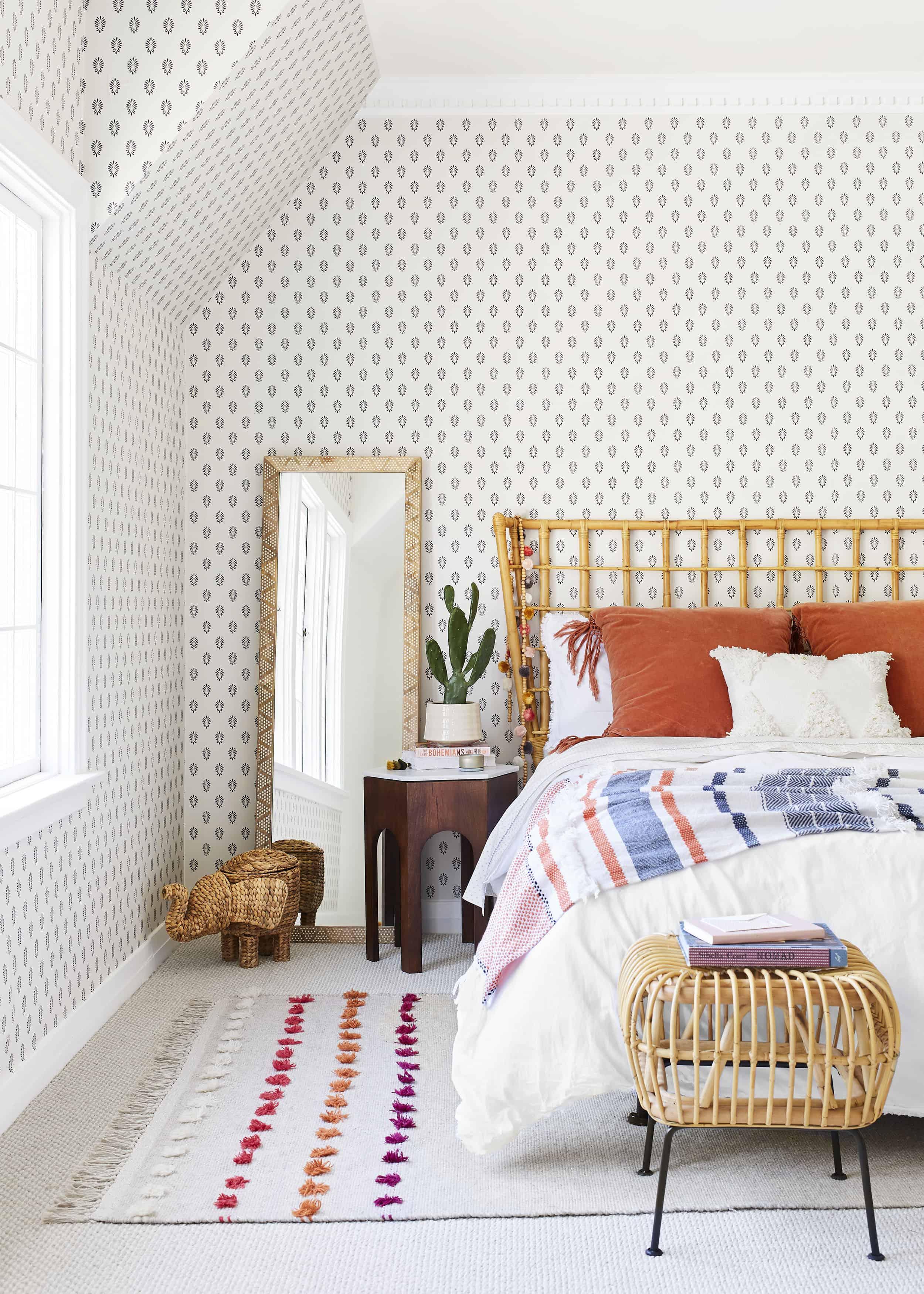 Bright Bohemian Elcectic Bedroom