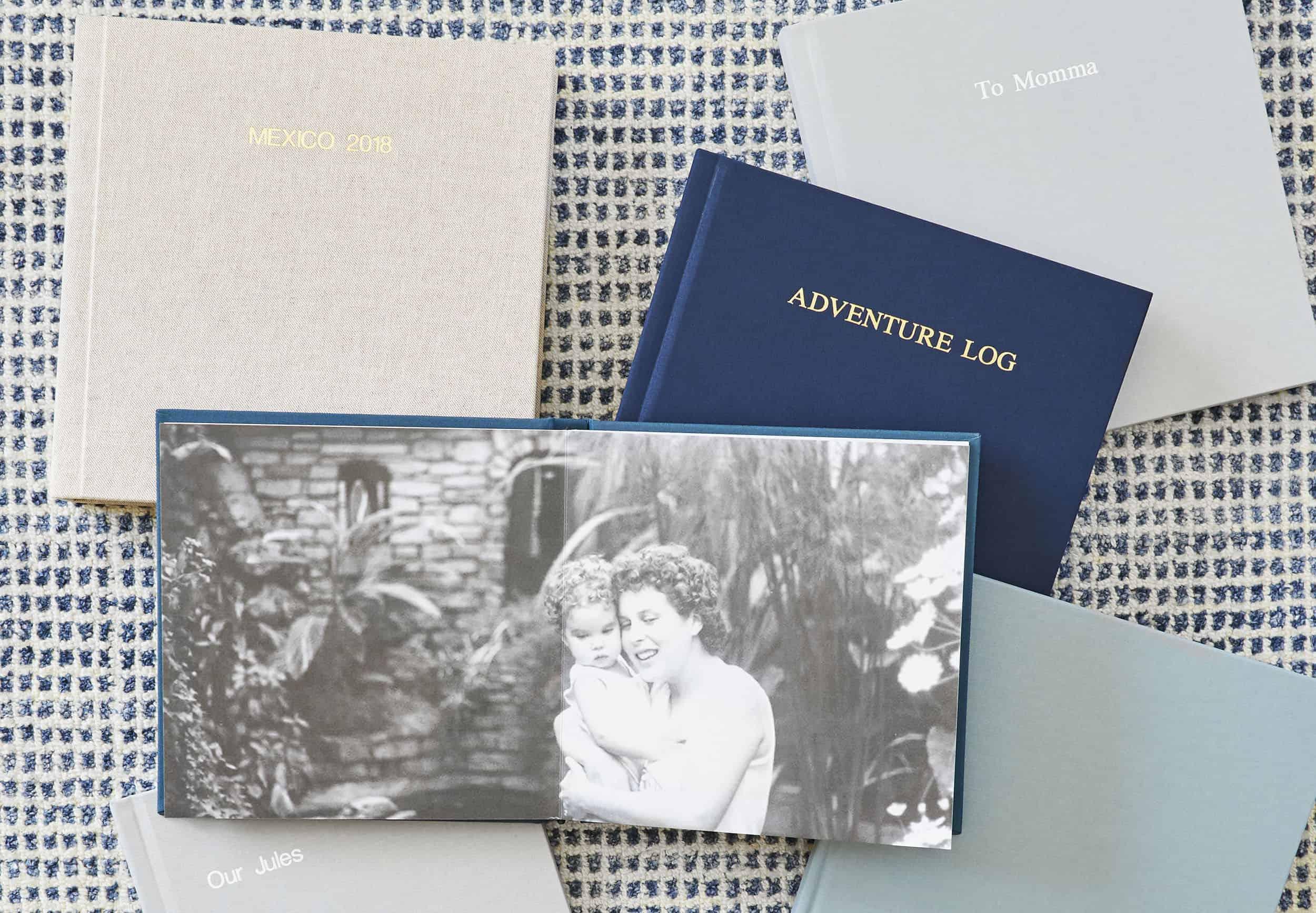 Custom Layflat Family Photo Book