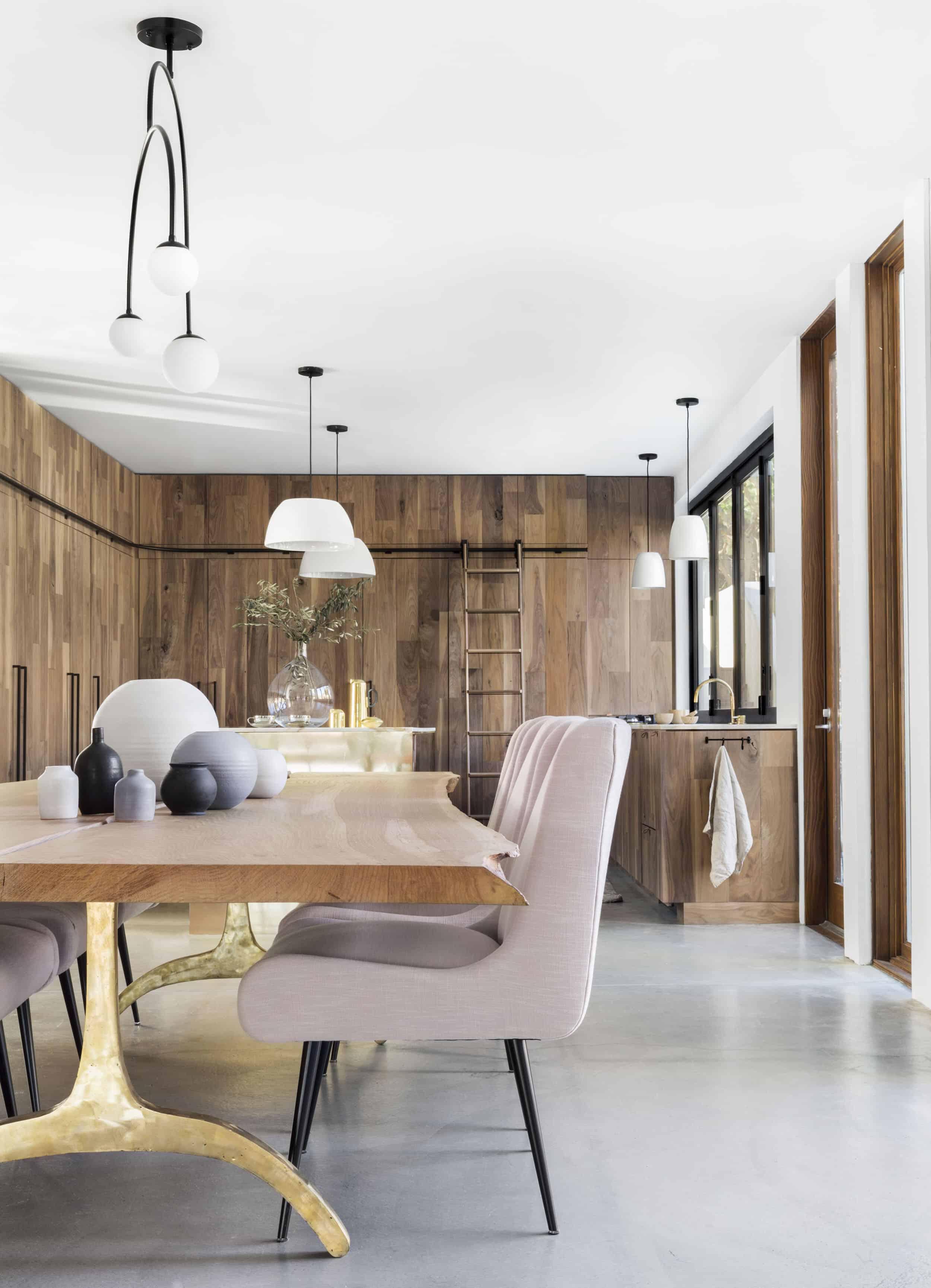 Emily Henderson Corbette Crypton 70s Modern Makeover Dining Room 6
