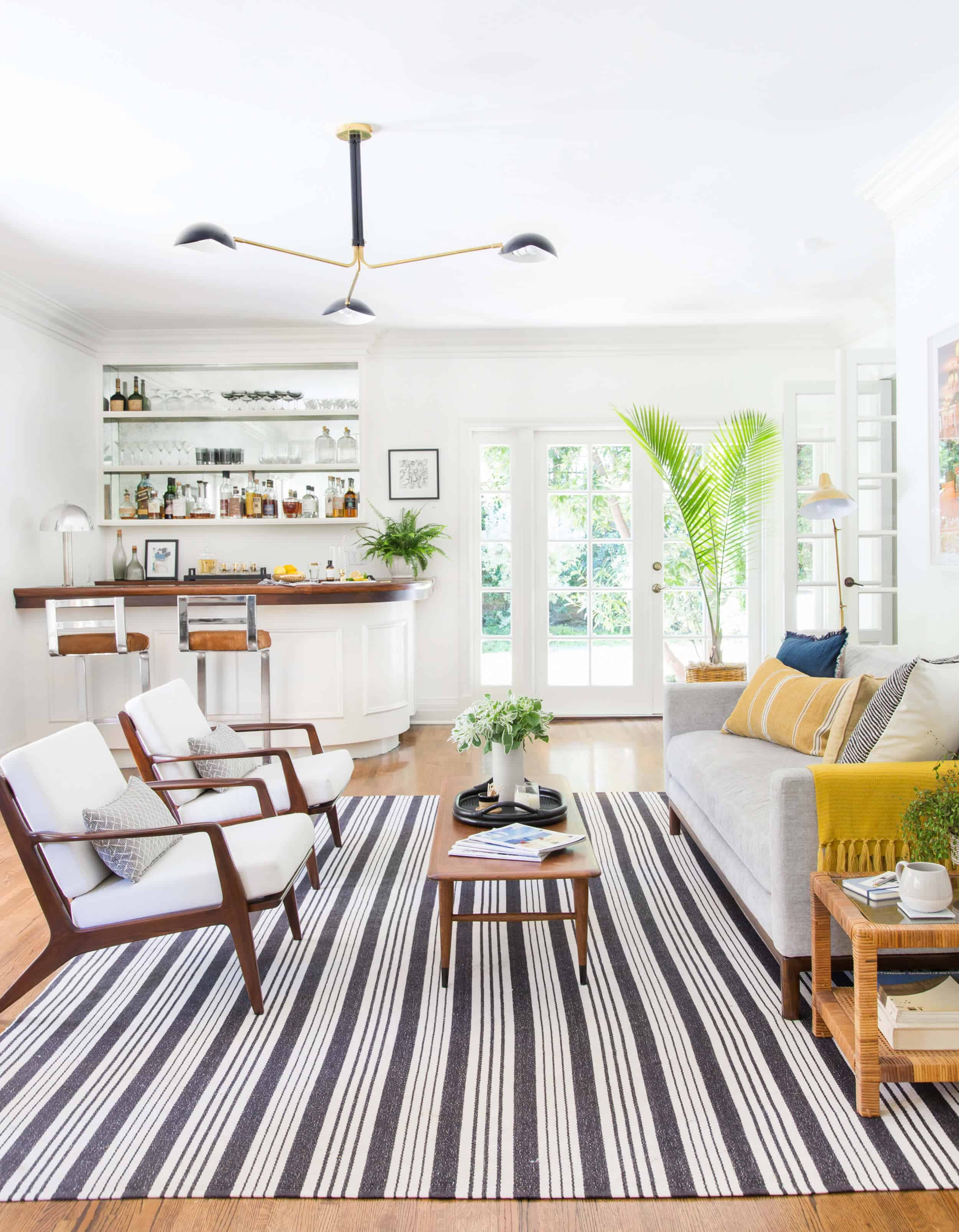 Power Couples: Sofas & Accent Chairs + a few rules - Emily Henderson