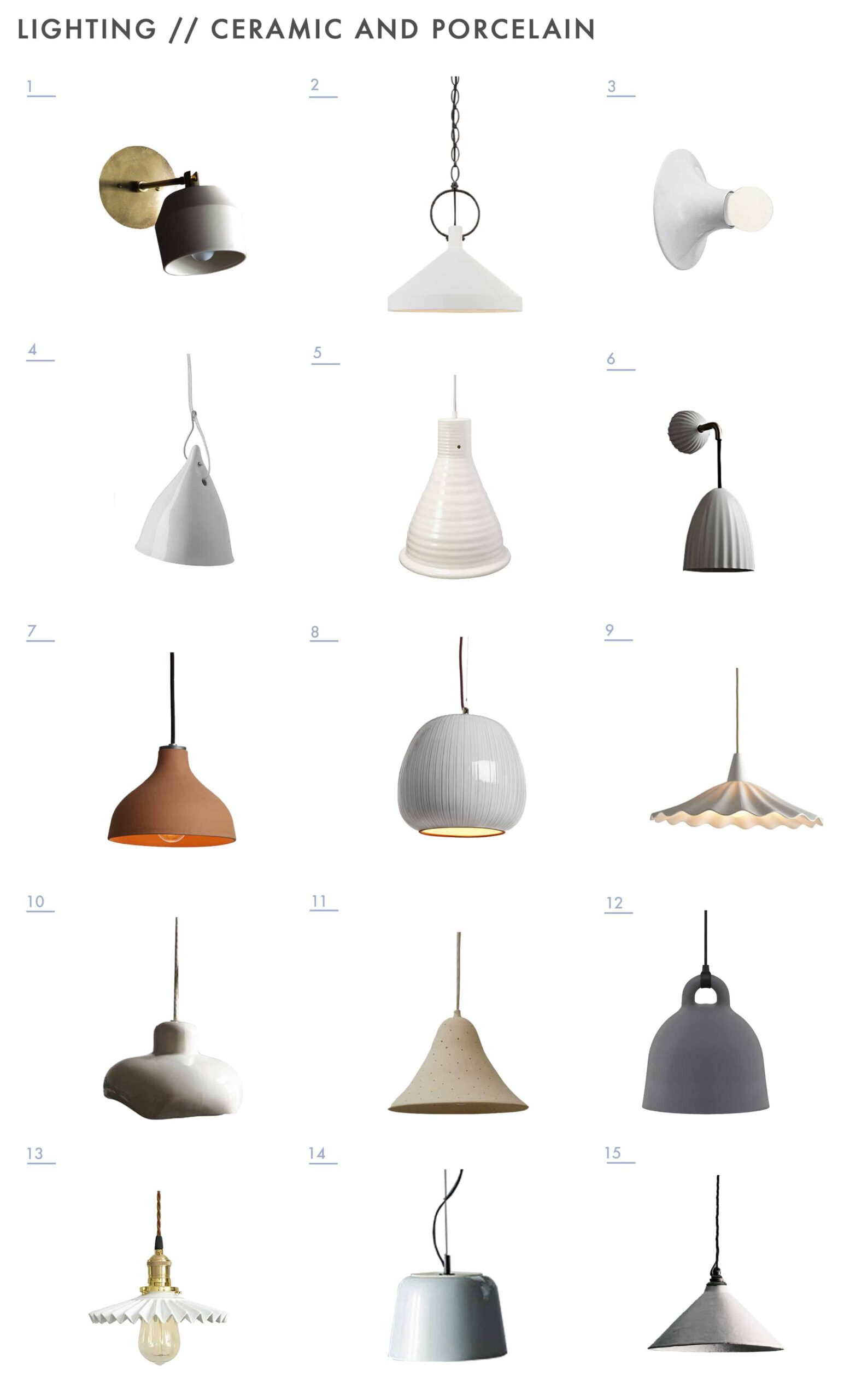 Emily Henderson Mountain Fixer Upper Lighting Options Deliate Soft Ceramic