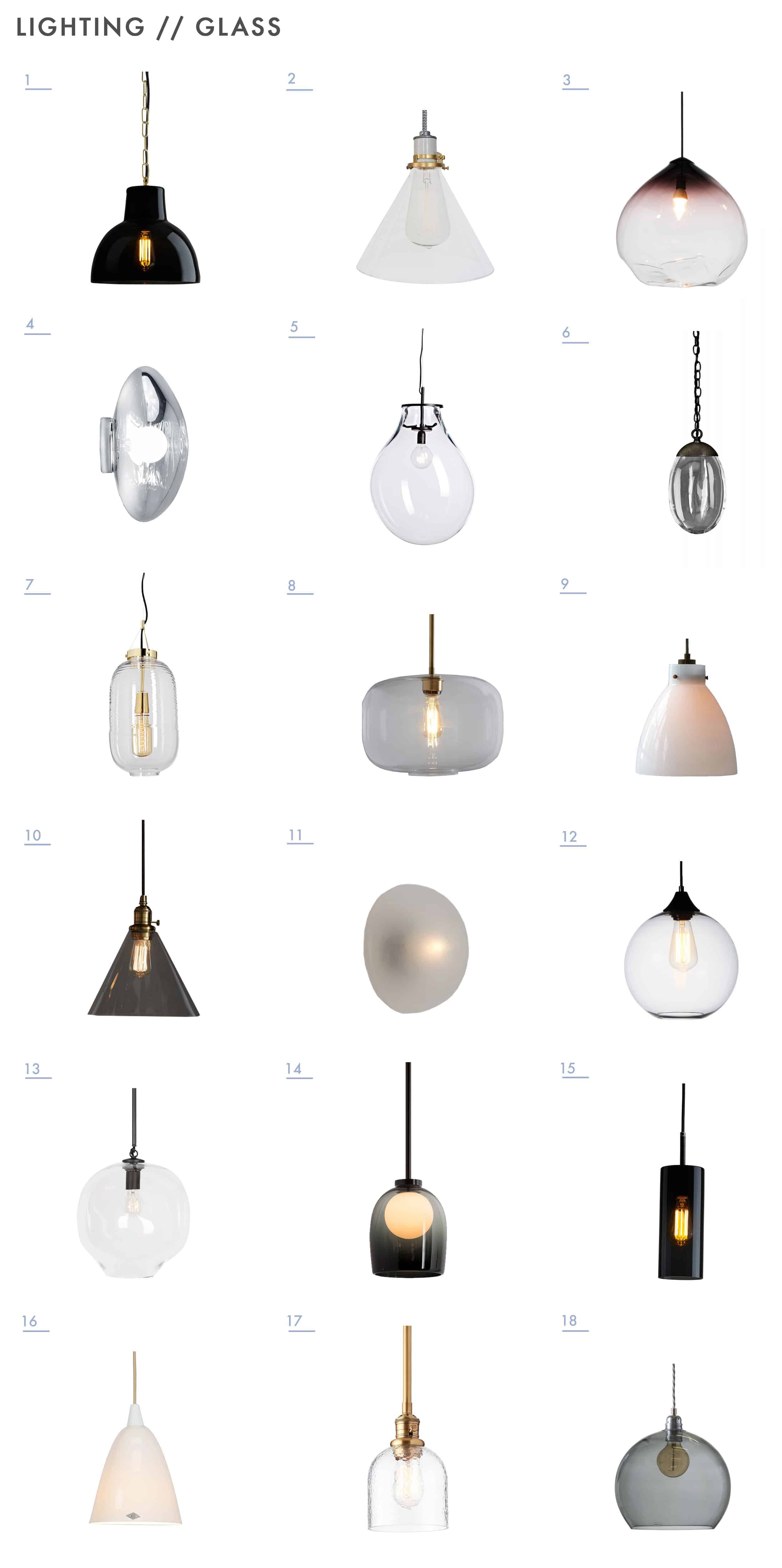 Emily Henderson Mountain Fixer Upper Lighting Options Deliate Soft Glass 11