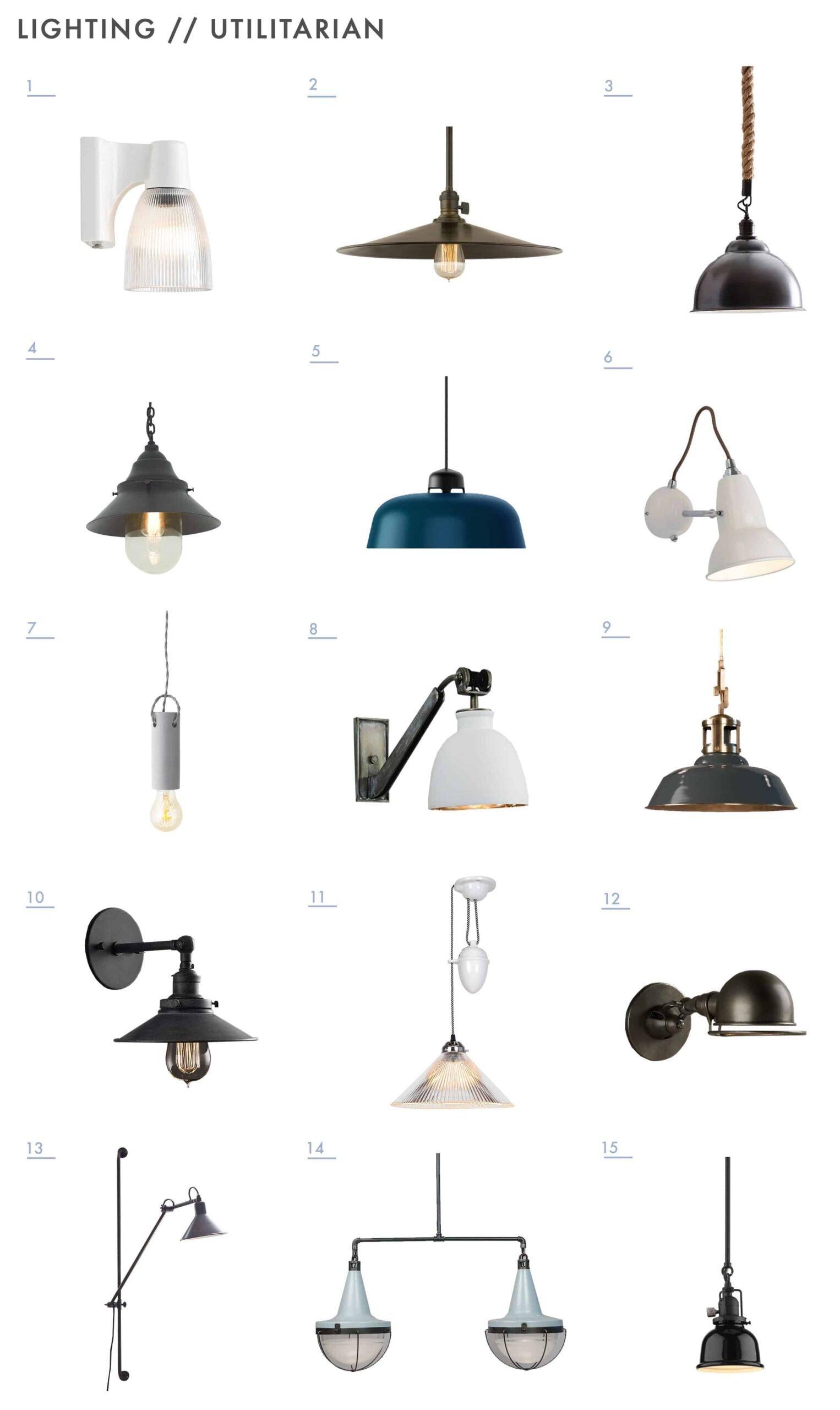 Emily Henderson Mountain Fixer Upper Lighting Options Utilitarian 1