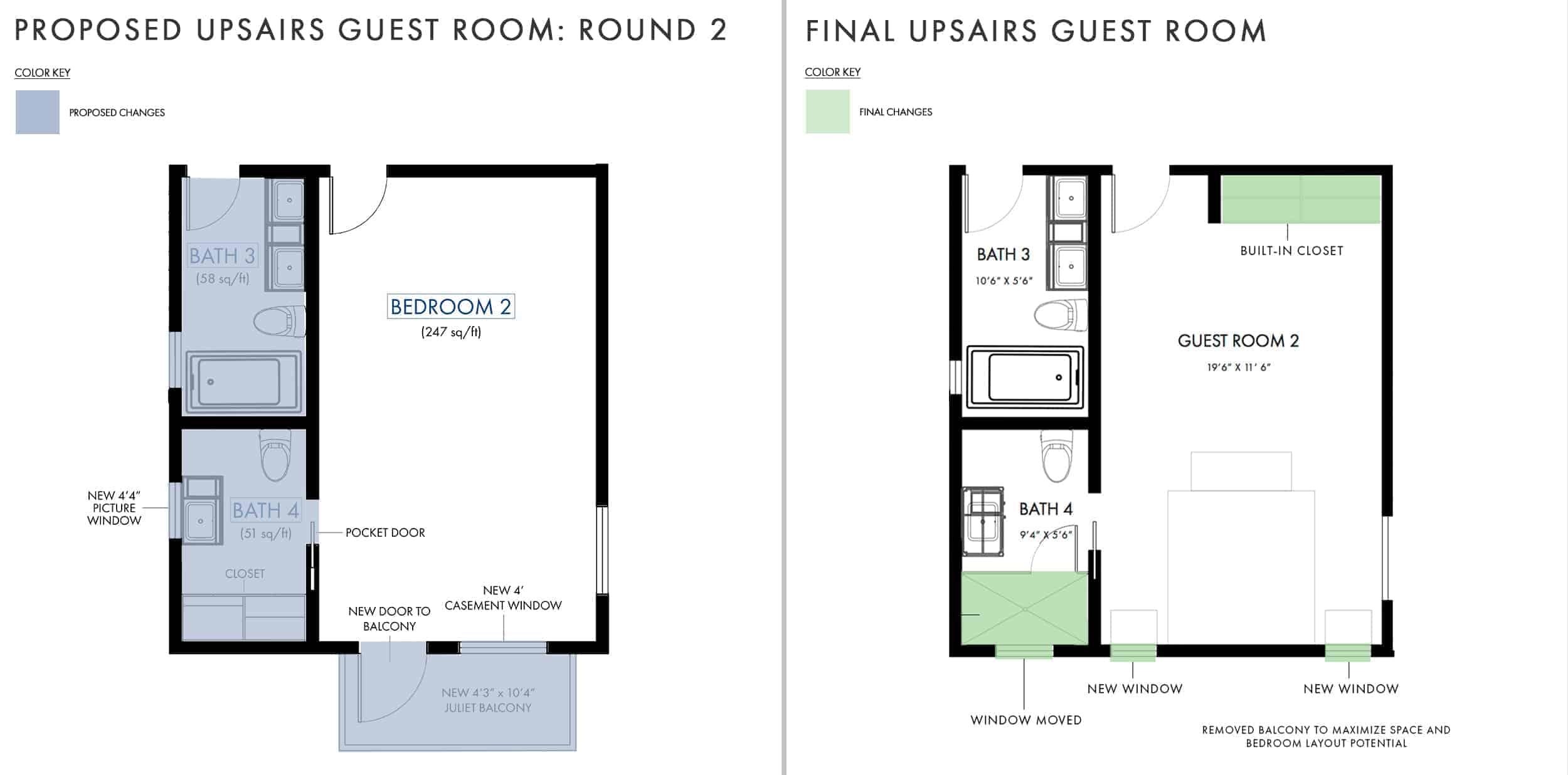 Emily Henderson Mountain House Fixer Upper Floor Guest Bedroom Side By Side