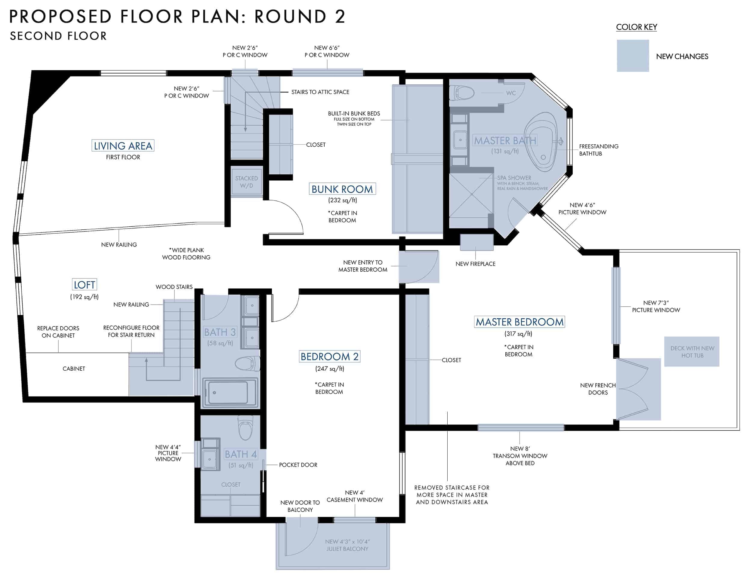 Emily Henderson Mountain Fixer Upper Floor Plans Version 21