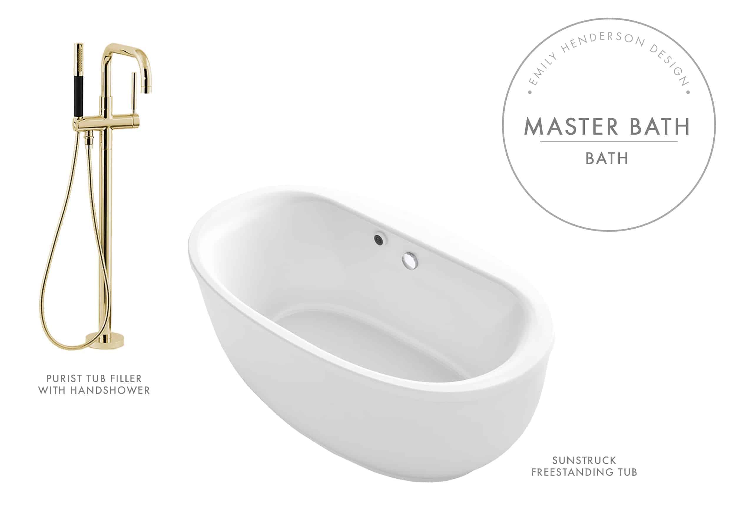 Emily Henderson Mountain Fixer Upper I Design You Decide Master Bath Final Kohler Product Bath Sunstruck
