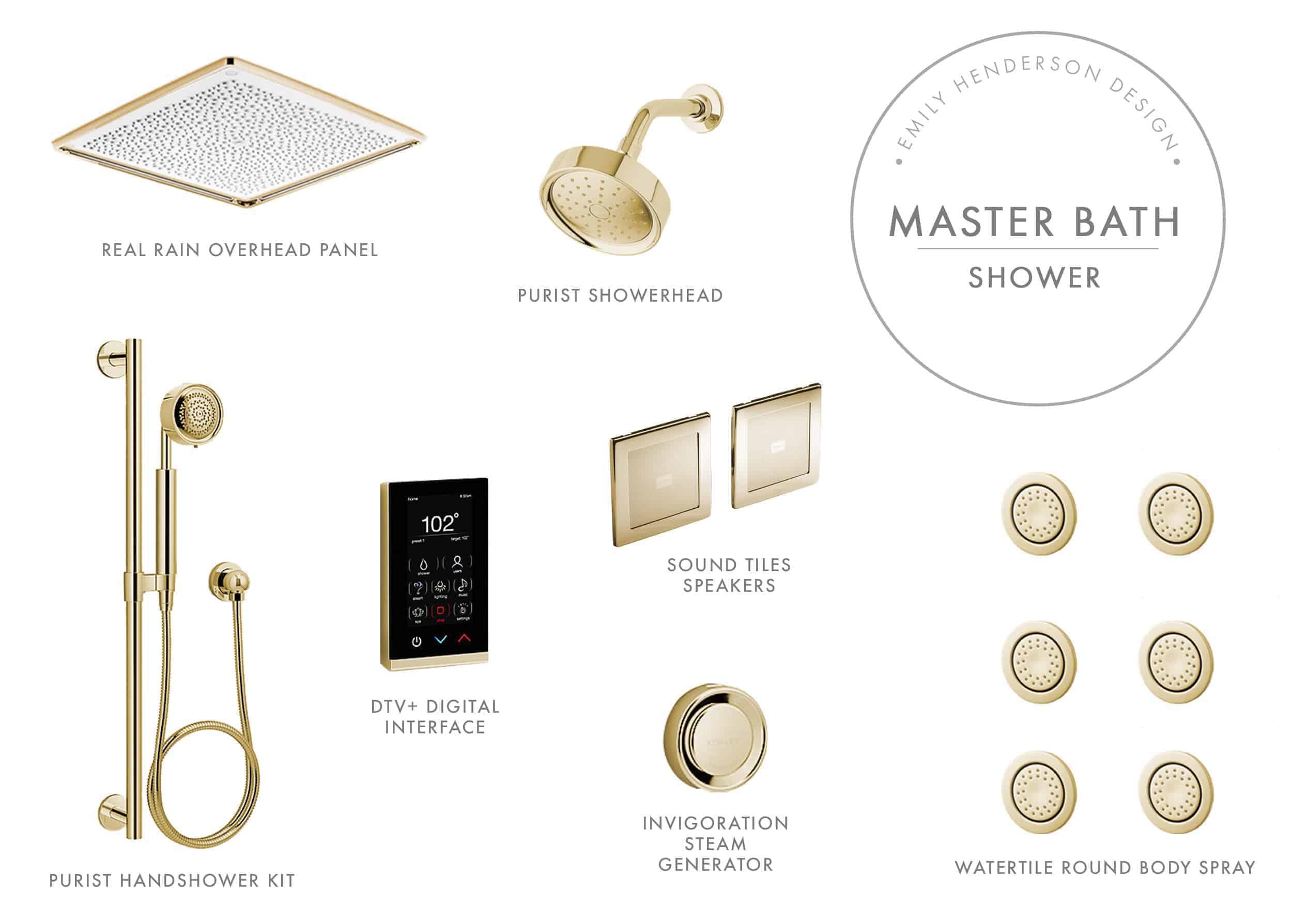 Emily Henderson Mountain Fixer Upper I Design You Decide Master Bath Final Kohler Product Shower Final