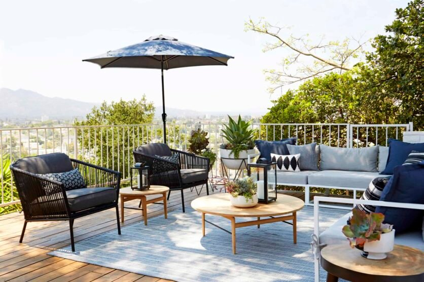 Emily Henderson Outdoor Furniture Lounge Furniture Chairs Sofas 3