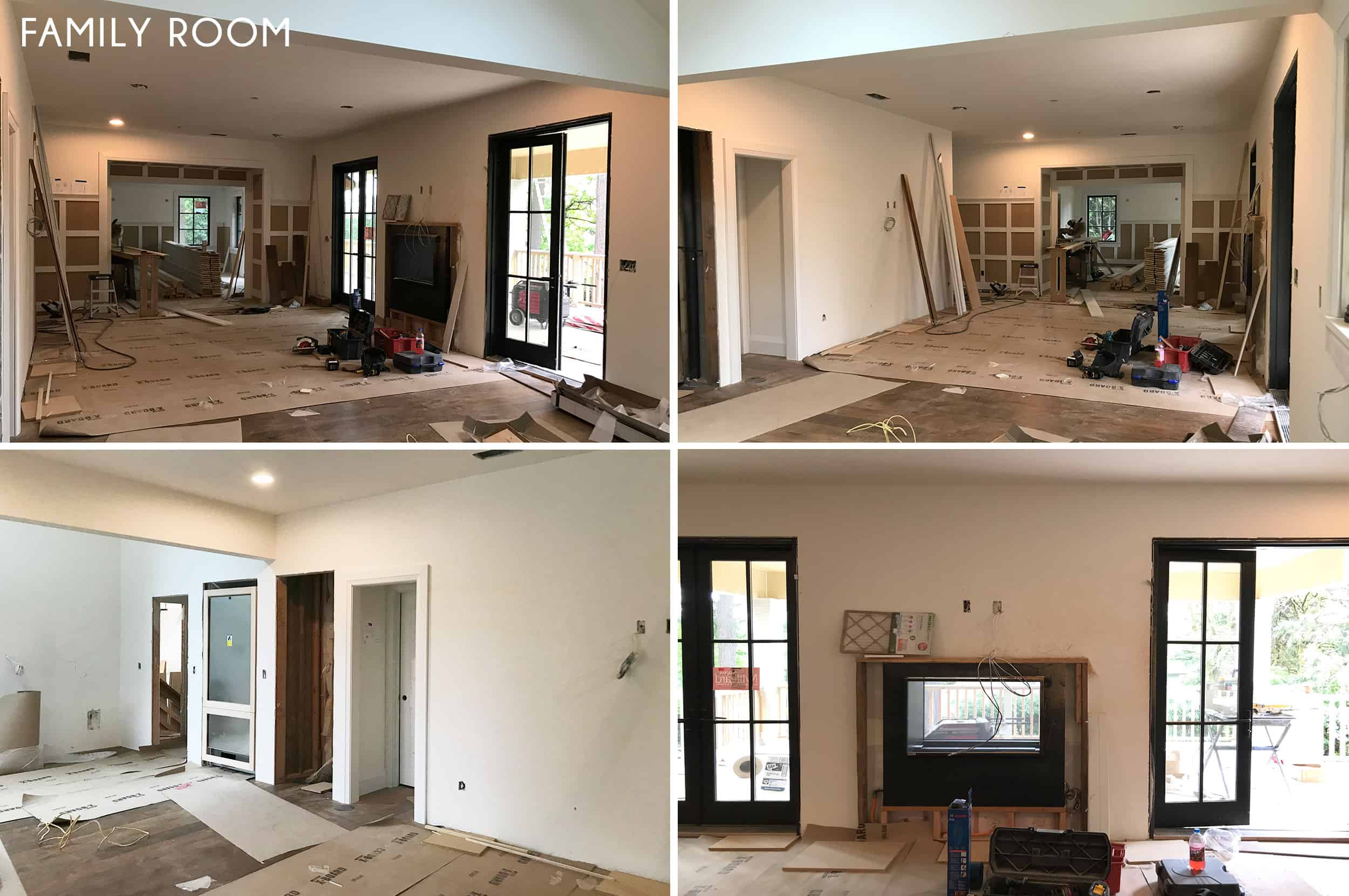 Emily Henderson Portland Traditional Updated Demo Pics Family Room