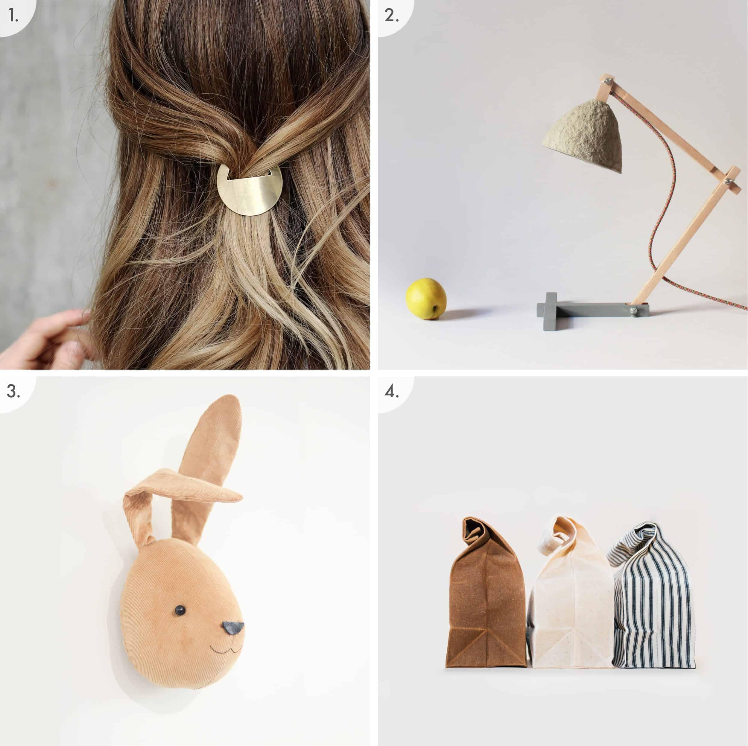Hair Lamp Bunny Bag