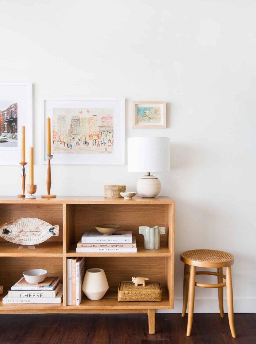Melanie Burstin Makeover Takeover Emily Henderson Living Room Minimal Japanese Neutral 10
