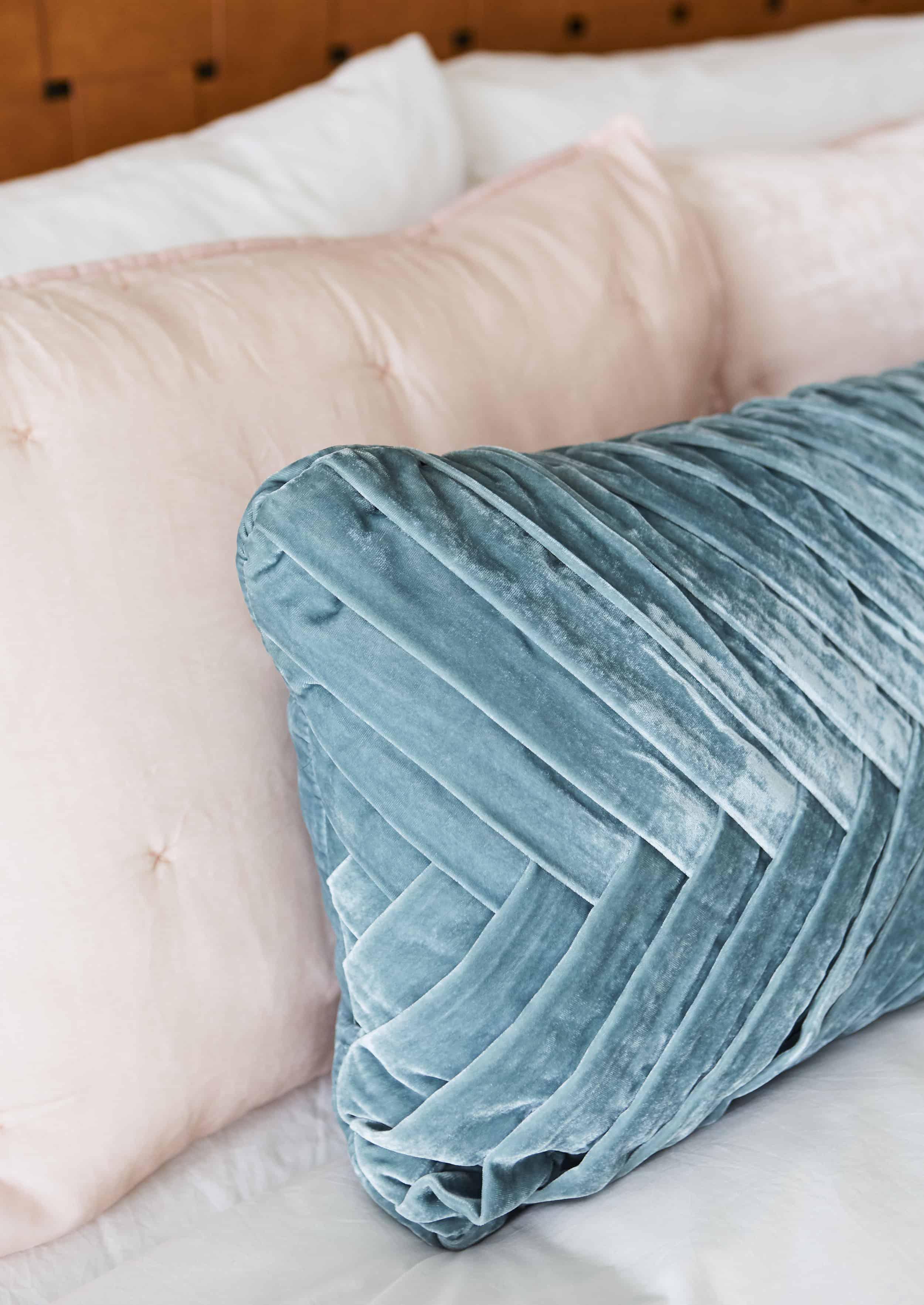 Opalhouse 70s Inspired Velvet Lumbar Pillow