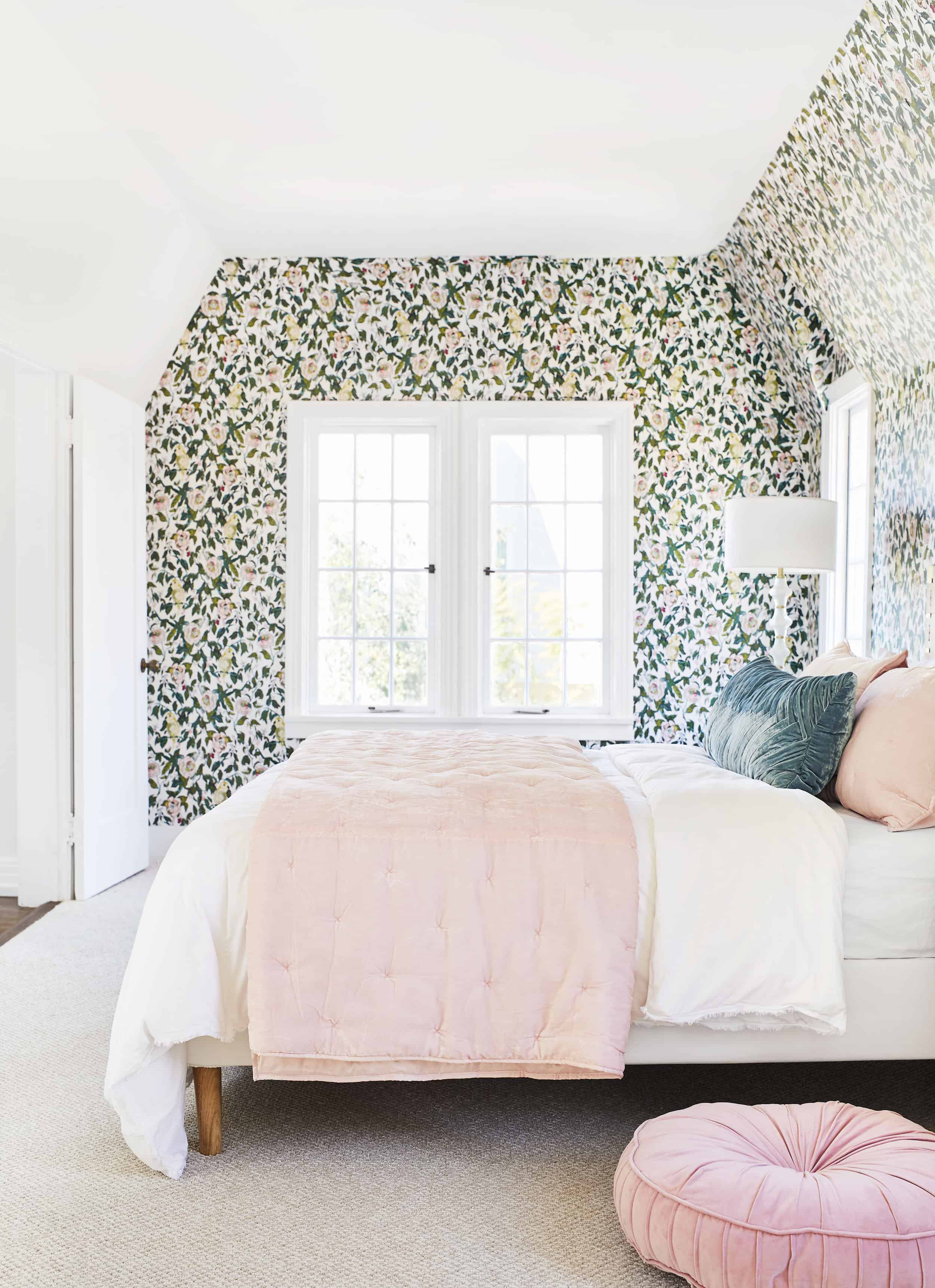 A Romantic Glam Bedroom Makeover With Opalhouse By Target Emily Henderson