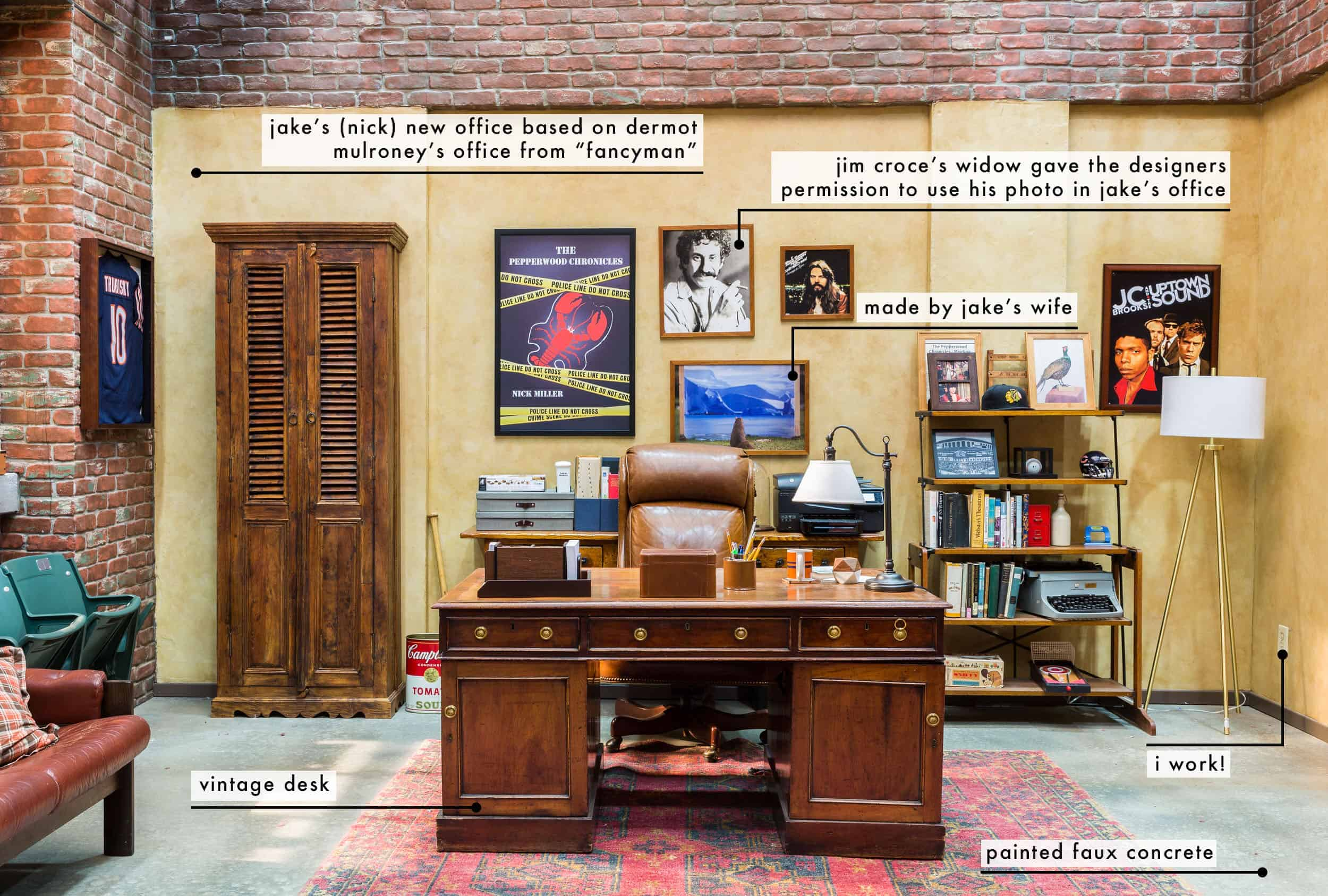 The New Girl Nicks Office Set Fun Facts Text Overlay1