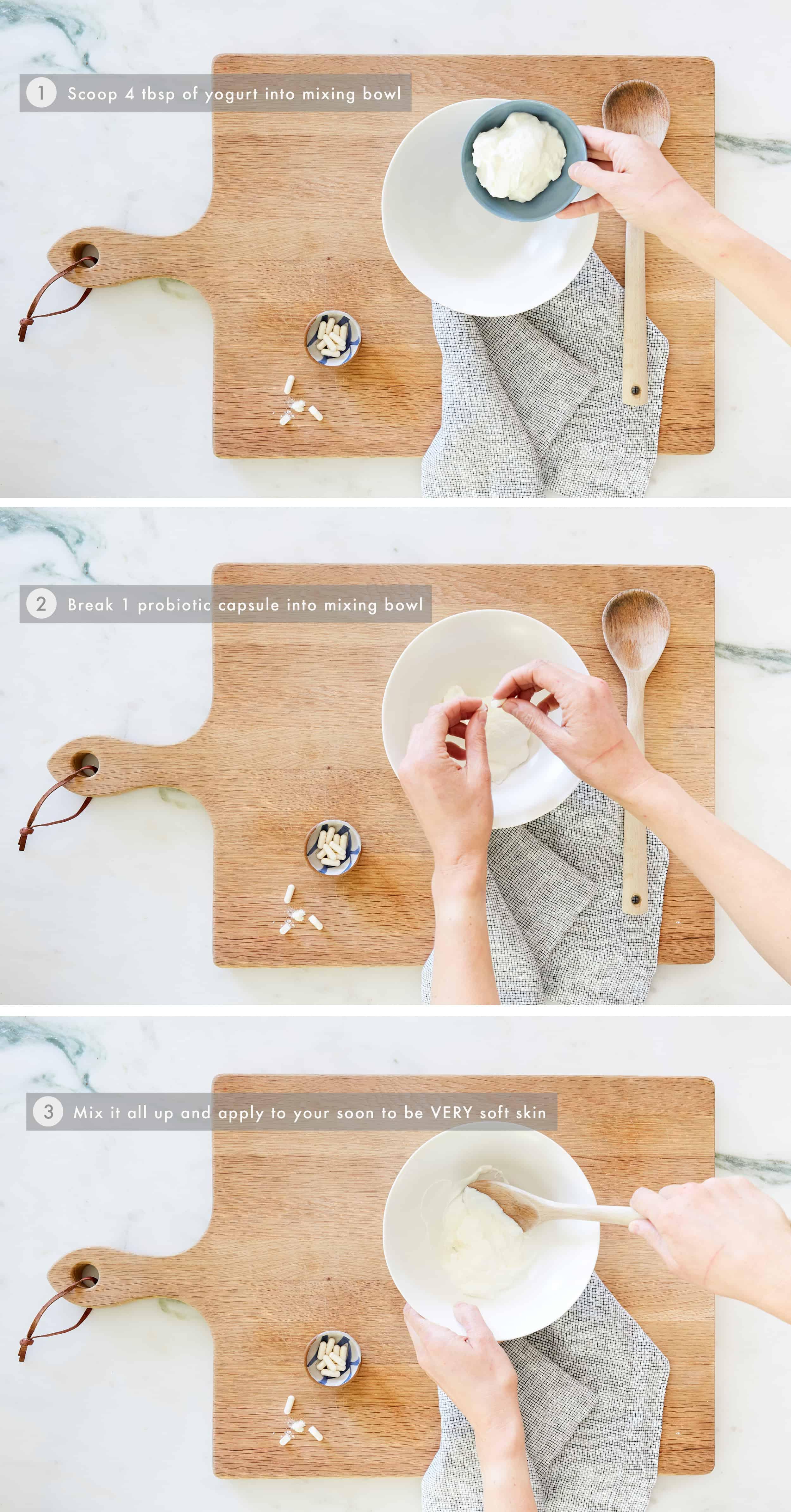 DIY Yogurt Face Mask Step-by-Step
