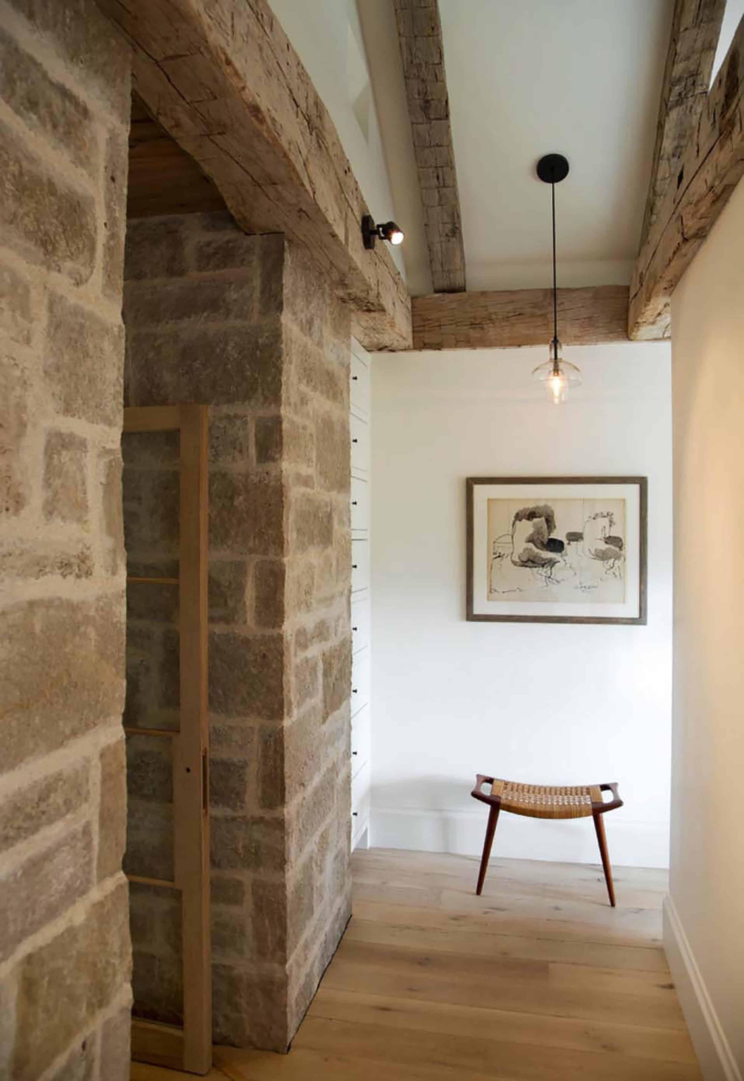 Modern Rustic Hallway