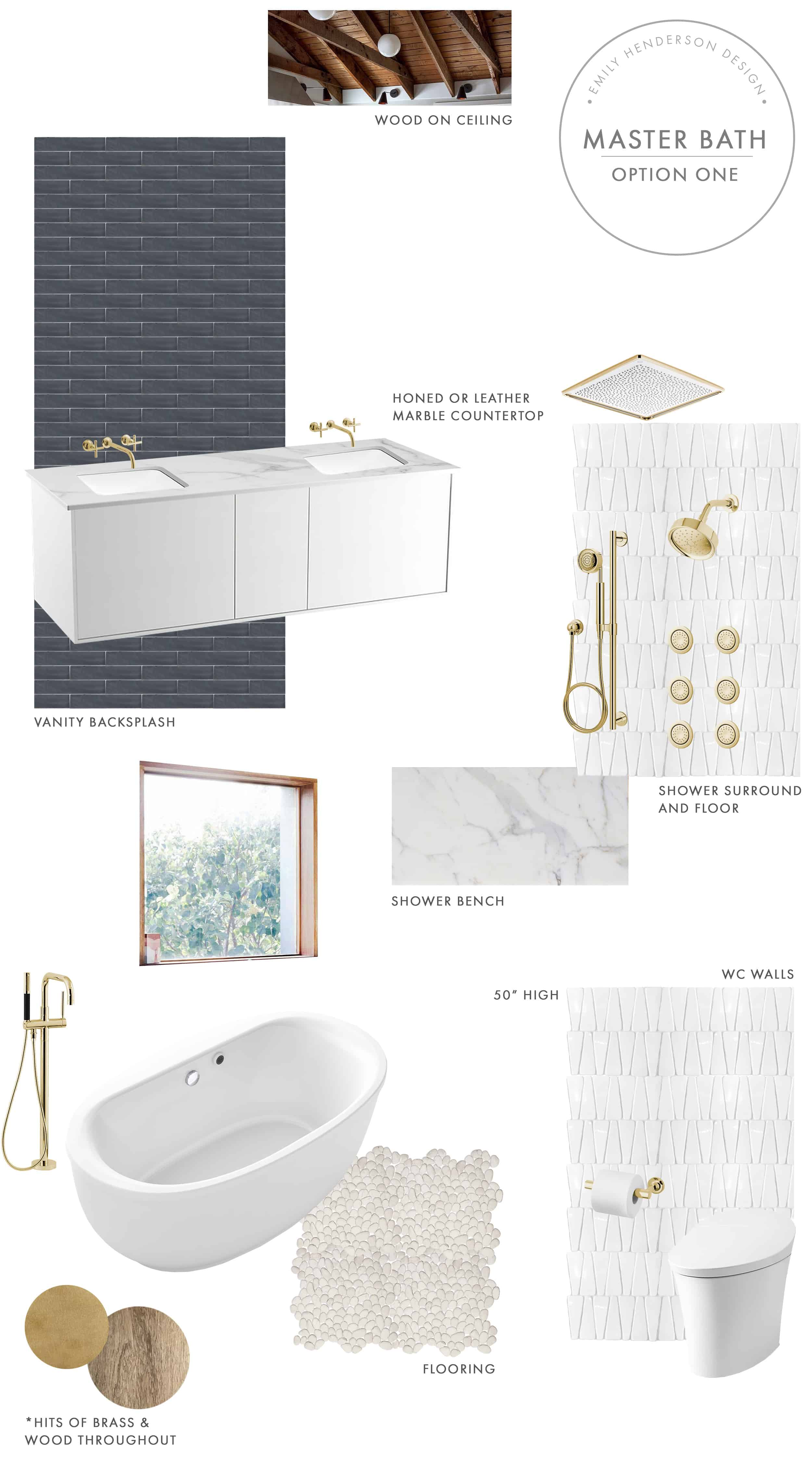Emily Henderson Mountain Fixer Upper I Design You Decide Master Bath Final Option One For Blog Final1