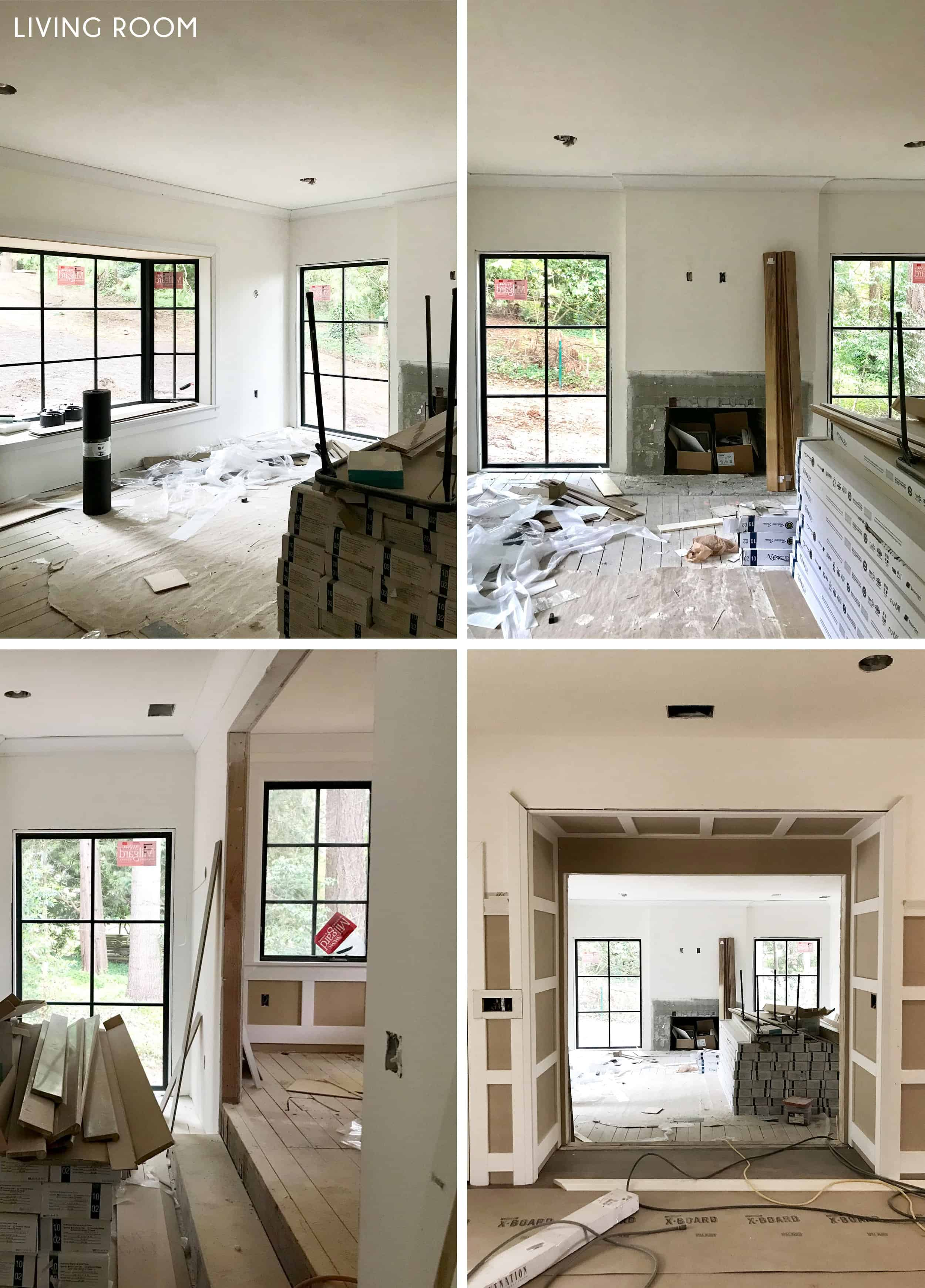 Emily Henderson Portland Traditional Updated Demo Pics Living Room