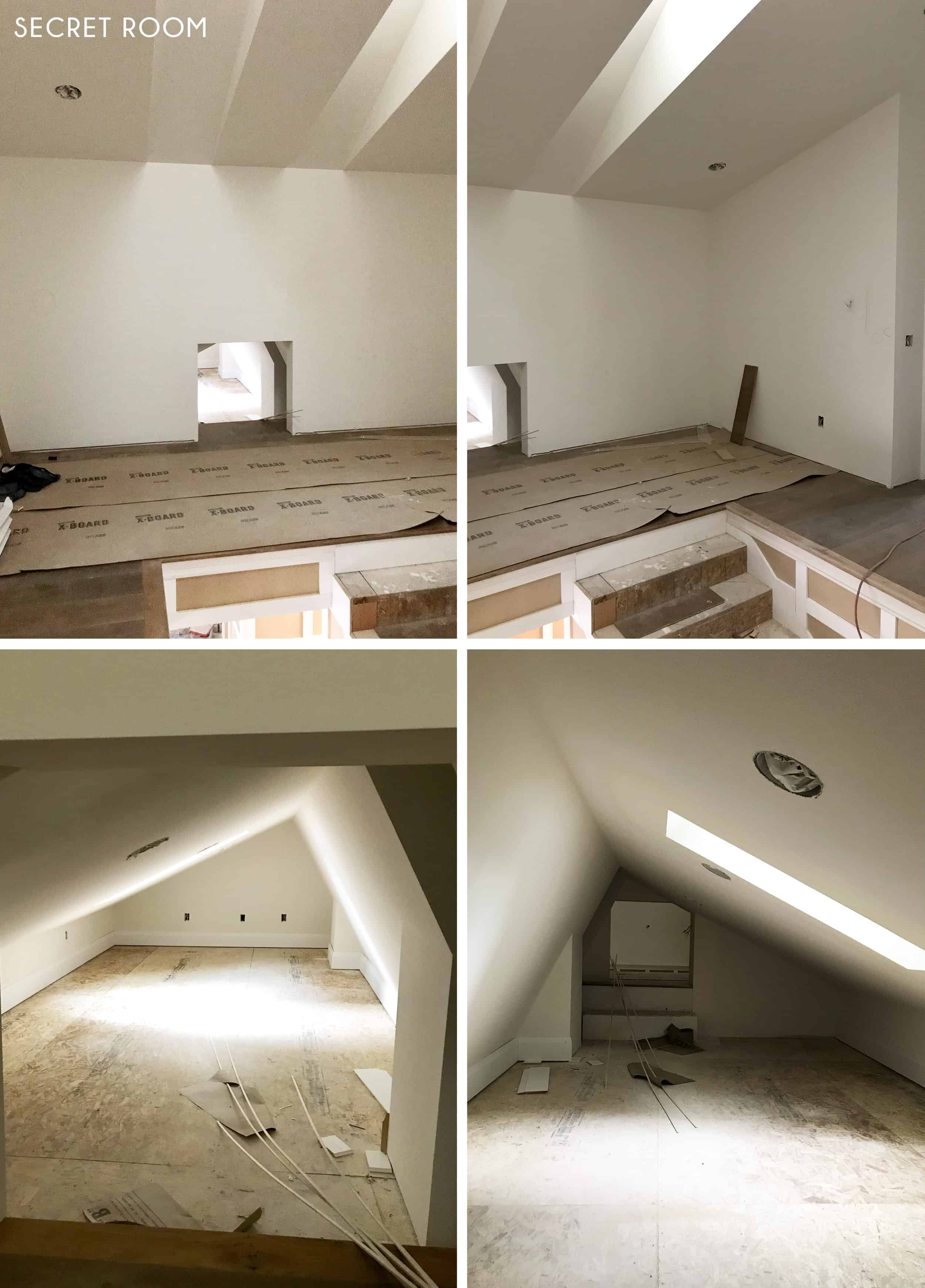 Emily Henderson Portland Traditional Updated Demo Pics Living Room Secret Room
