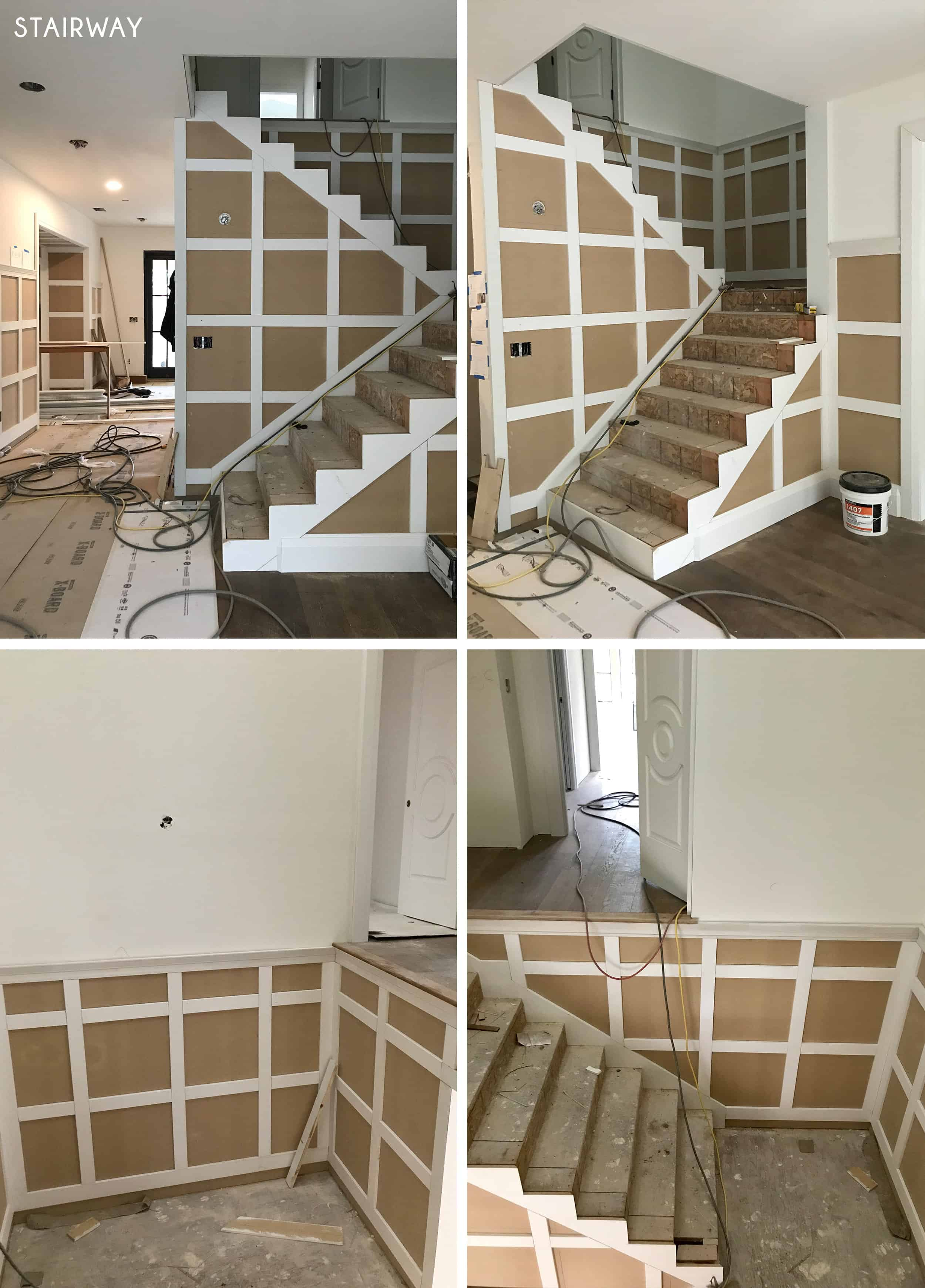 Emily Henderson Portland Traditional Updated Demo Pics Stairway
