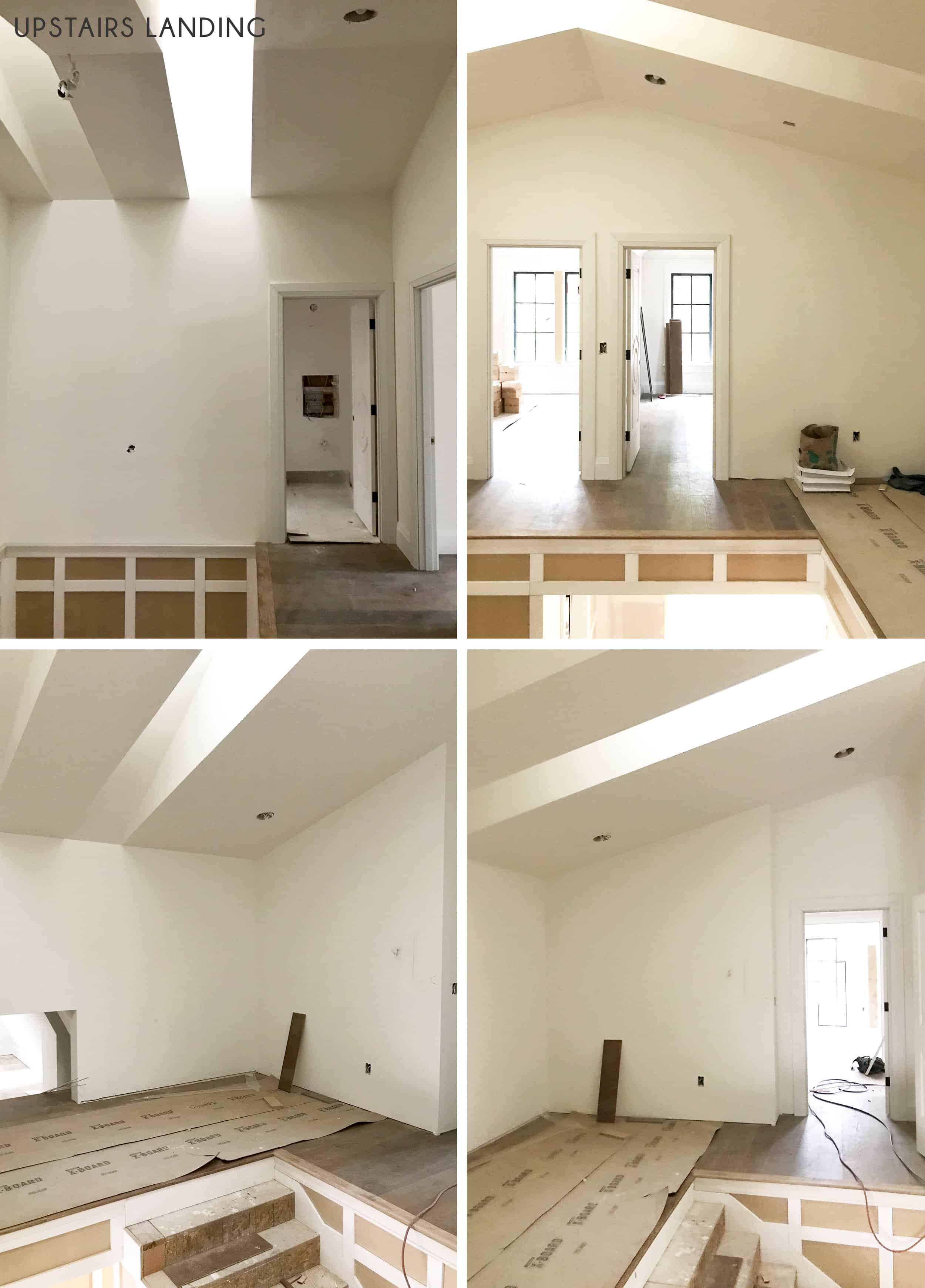 Emily Henderson Portland Traditional Updated Demo Pics Upstairs Landing