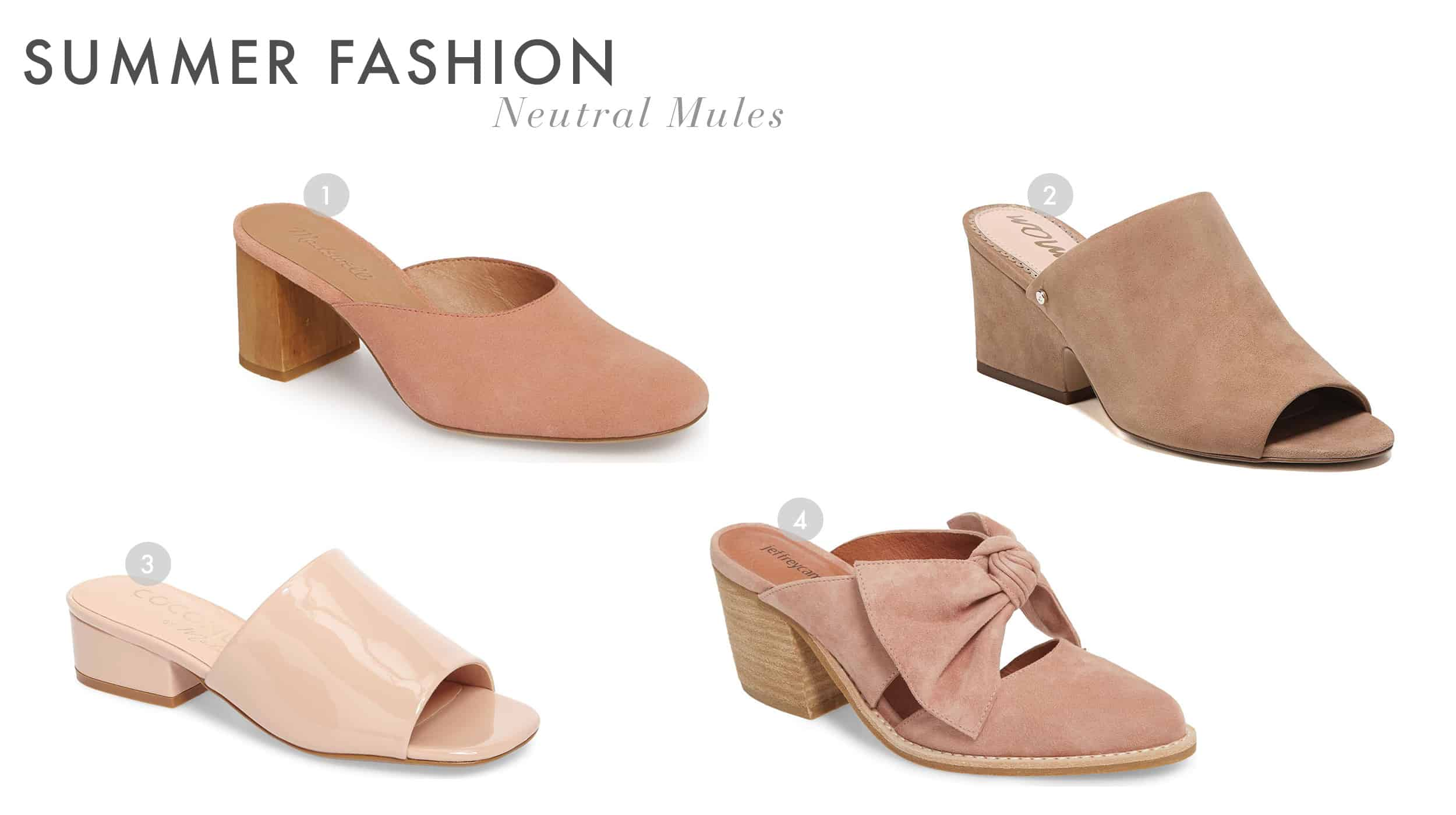 Emily Henderson Summer Fashion 2018 Neutral Shoes Slip Ons