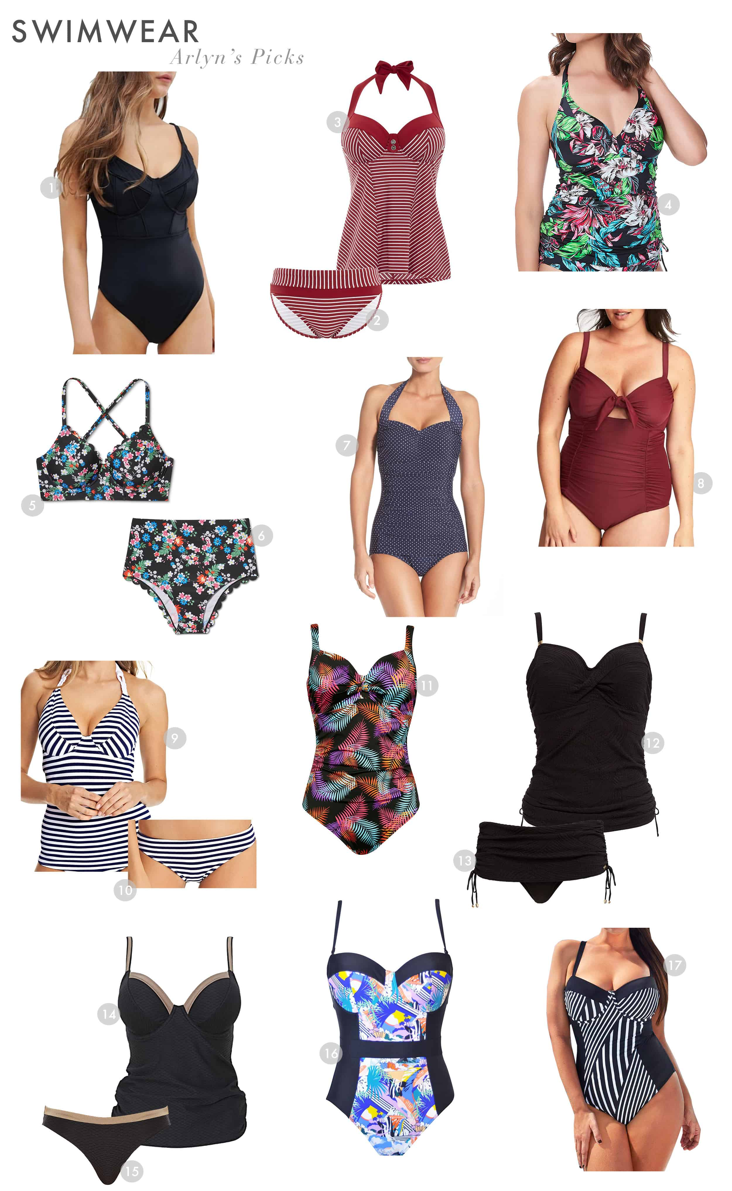 Emily Henderson Swimsuits Different Body Types Summmer Arlyn 2