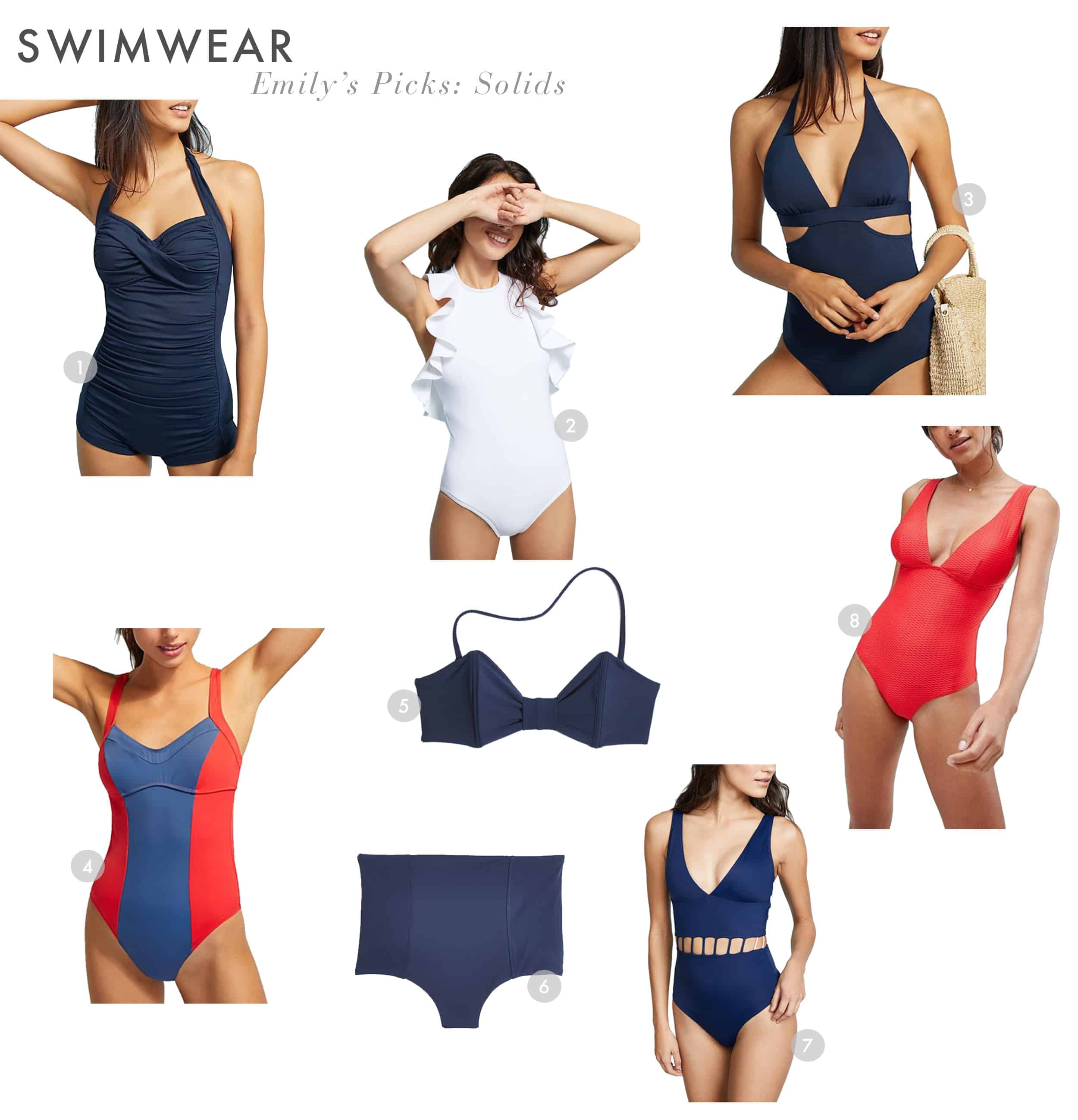 Emily Henderson Swimsuits Different Body Types Summmer Emily Solids 1