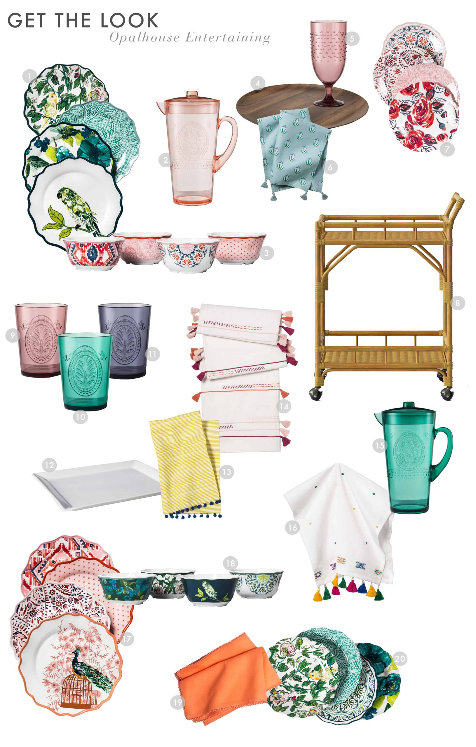 Emily Henderson Target Outdoor Collection Opalhouse Get The Look Entertaining