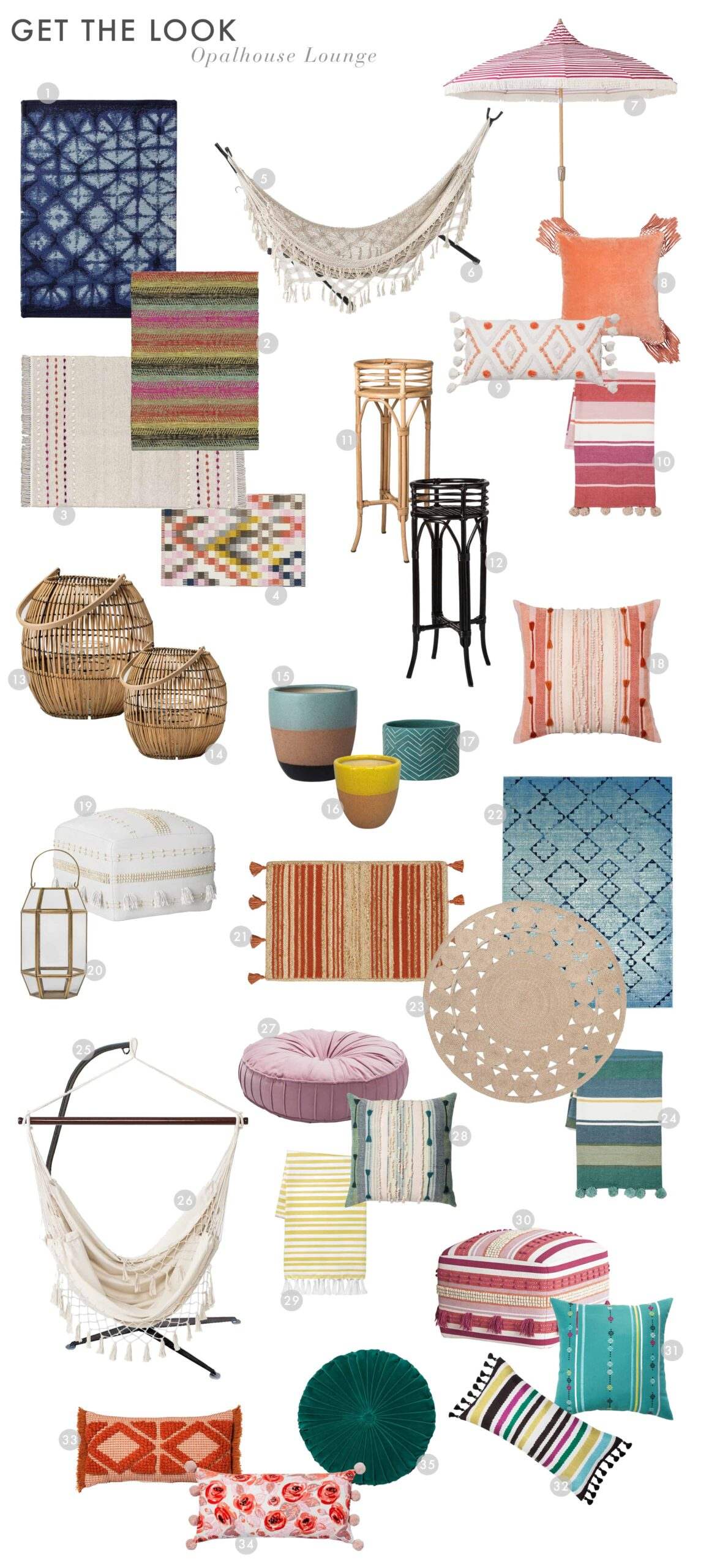 Emily Henderson Target Outdoor Collection Opalhouse Get The Look Lounge