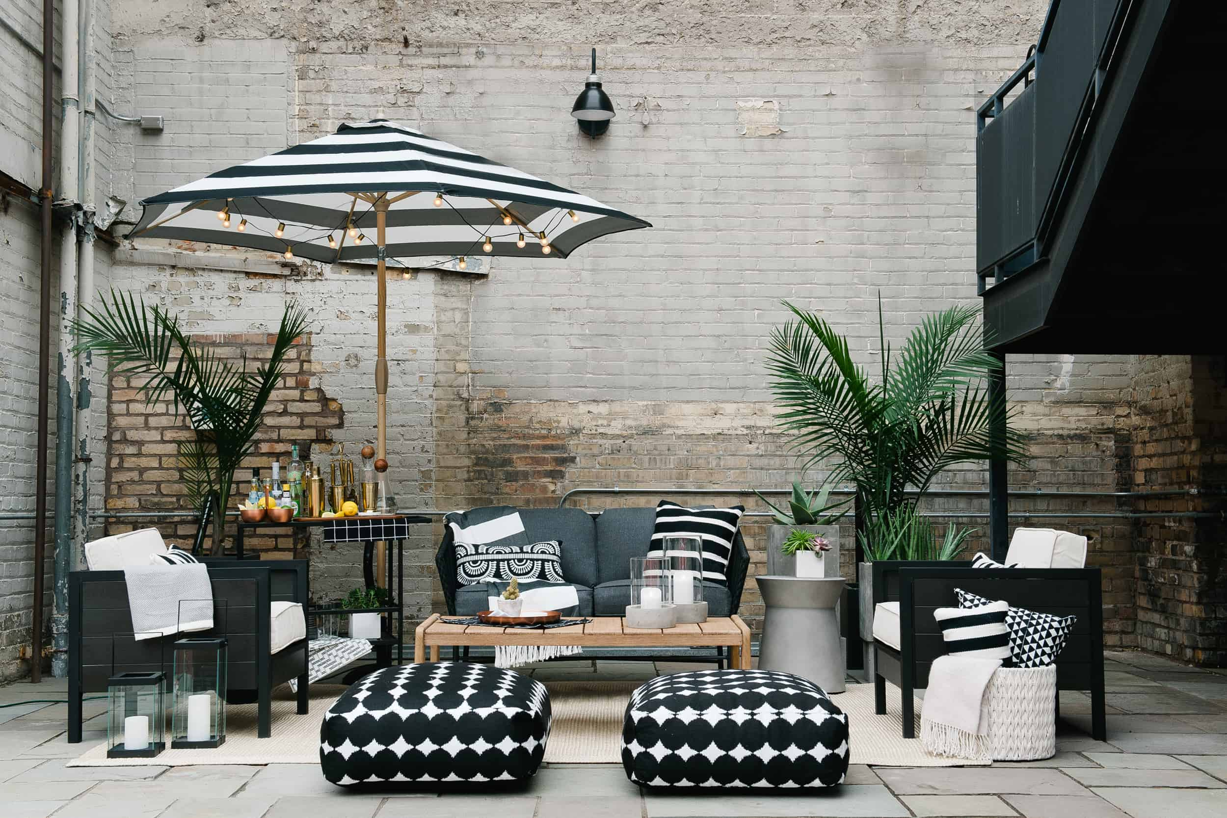 Emily Henderson Target Outdoor Collections Summer Patio Pic 1