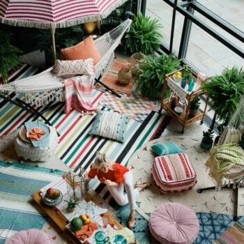 Outdoor Decorating Boho Ideas