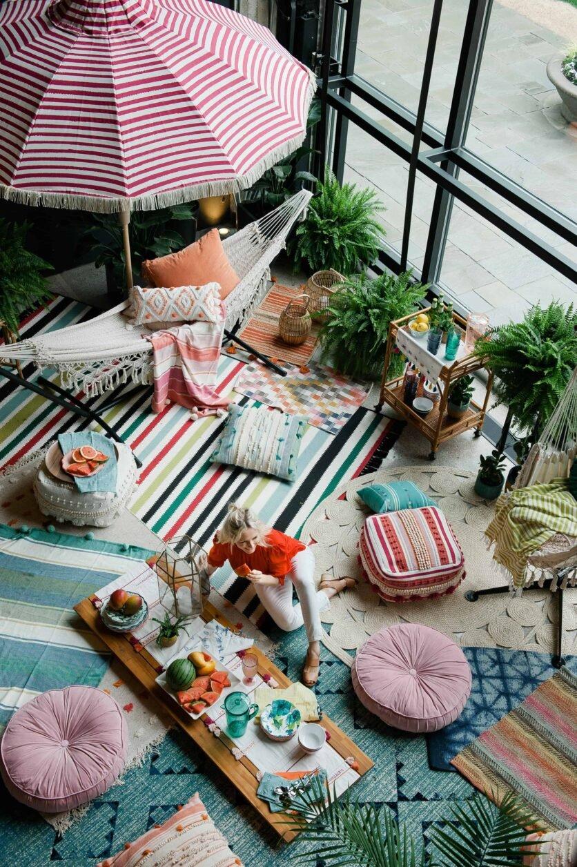Outdoor Decorating Boho Ideas