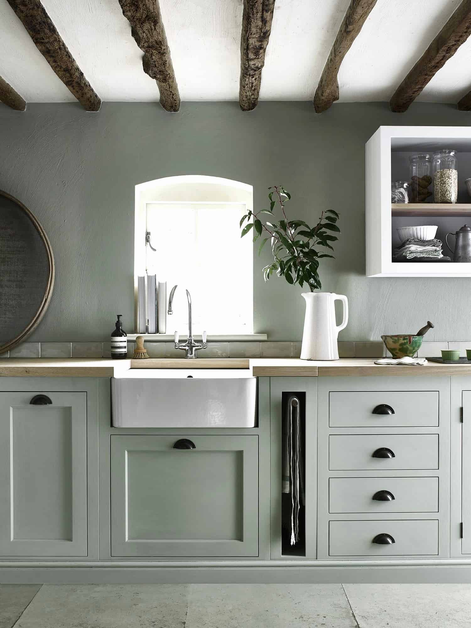 Sage Green Traditional Kitchen