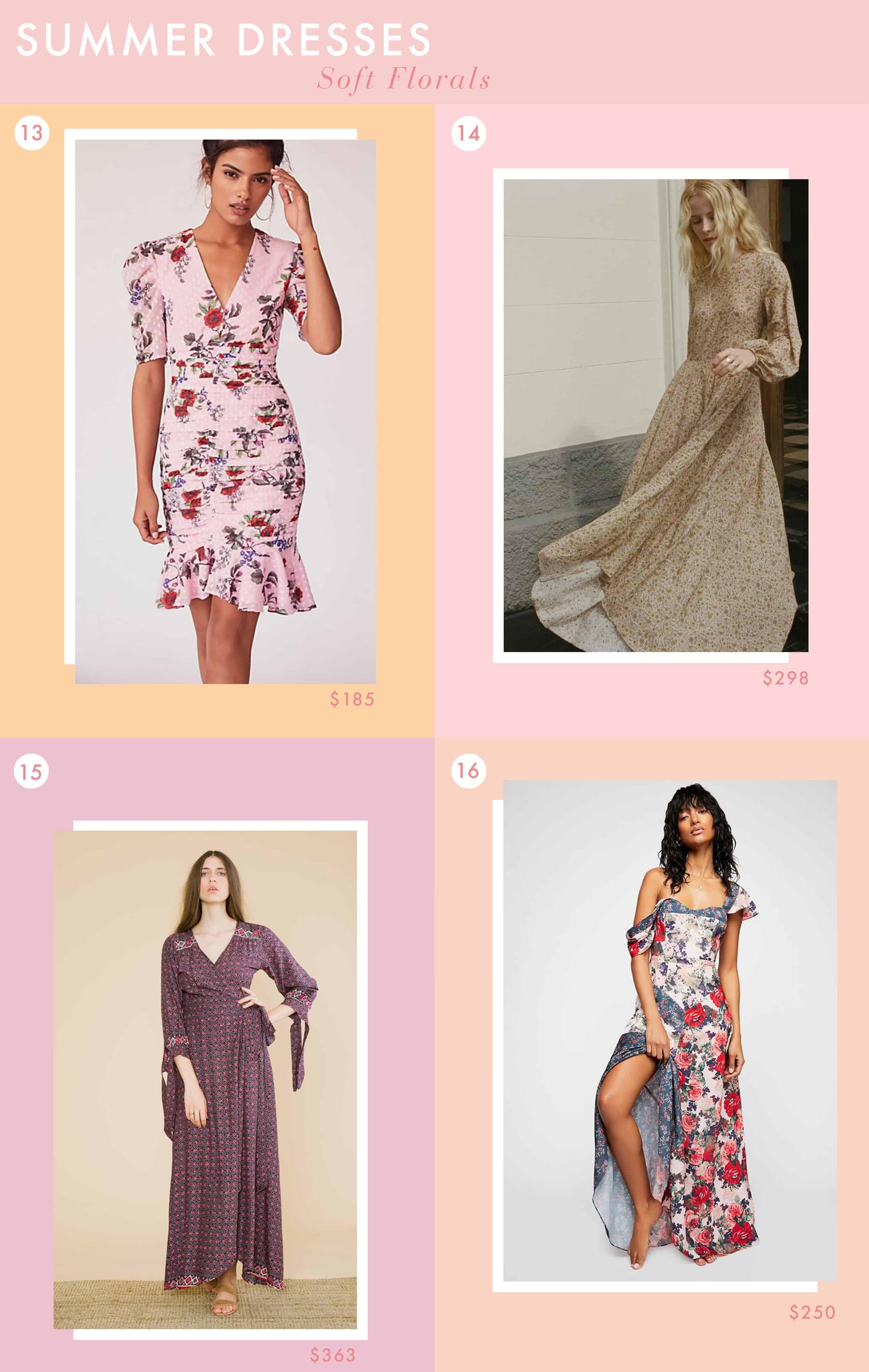 Emily Henderson Fashion Summer Dresses Soft Florals