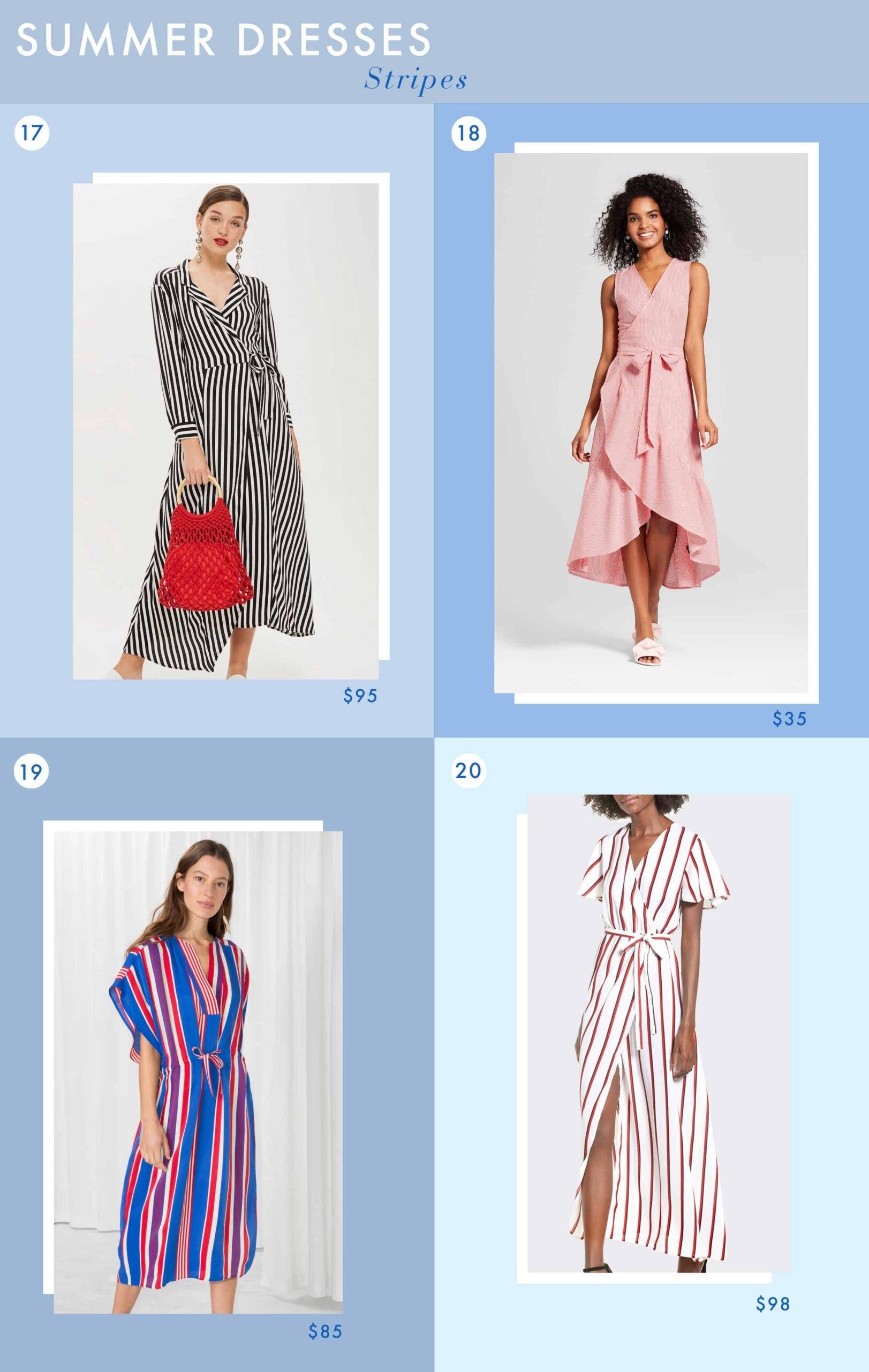 Emily Henderson Fashion Summer Dresses Stripes