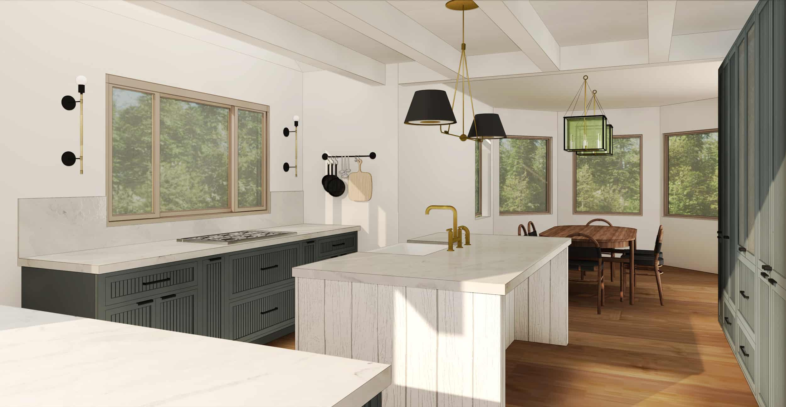 Emily Henderson Mountain Fixer Upper I Design You Decide Kitchen Ps Option2