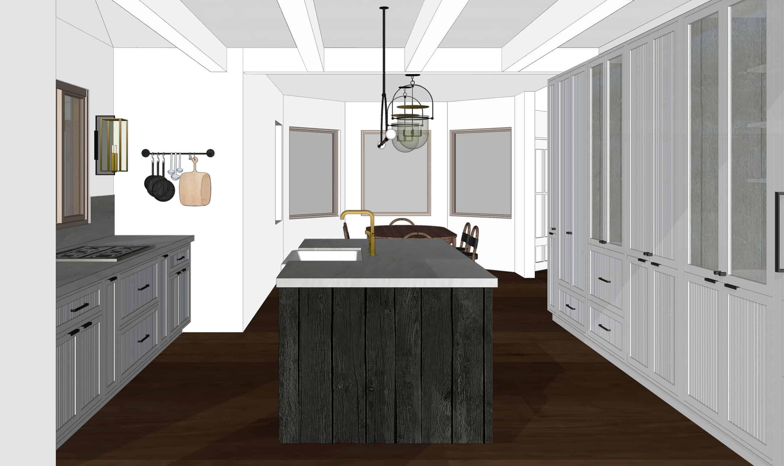 Emily Henderson Mountain Fixer Upper I Design You Decide Kitchen Render 02 Fnladj