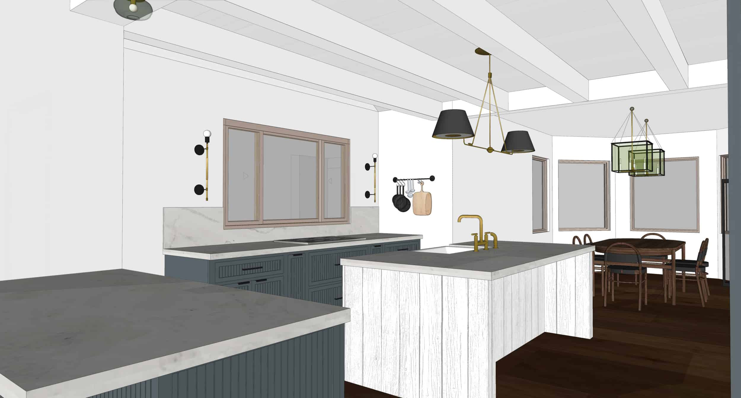 Emily Henderson Mountain Fixer Upper I Design You Decide Kitchen Render 03 6.20.181