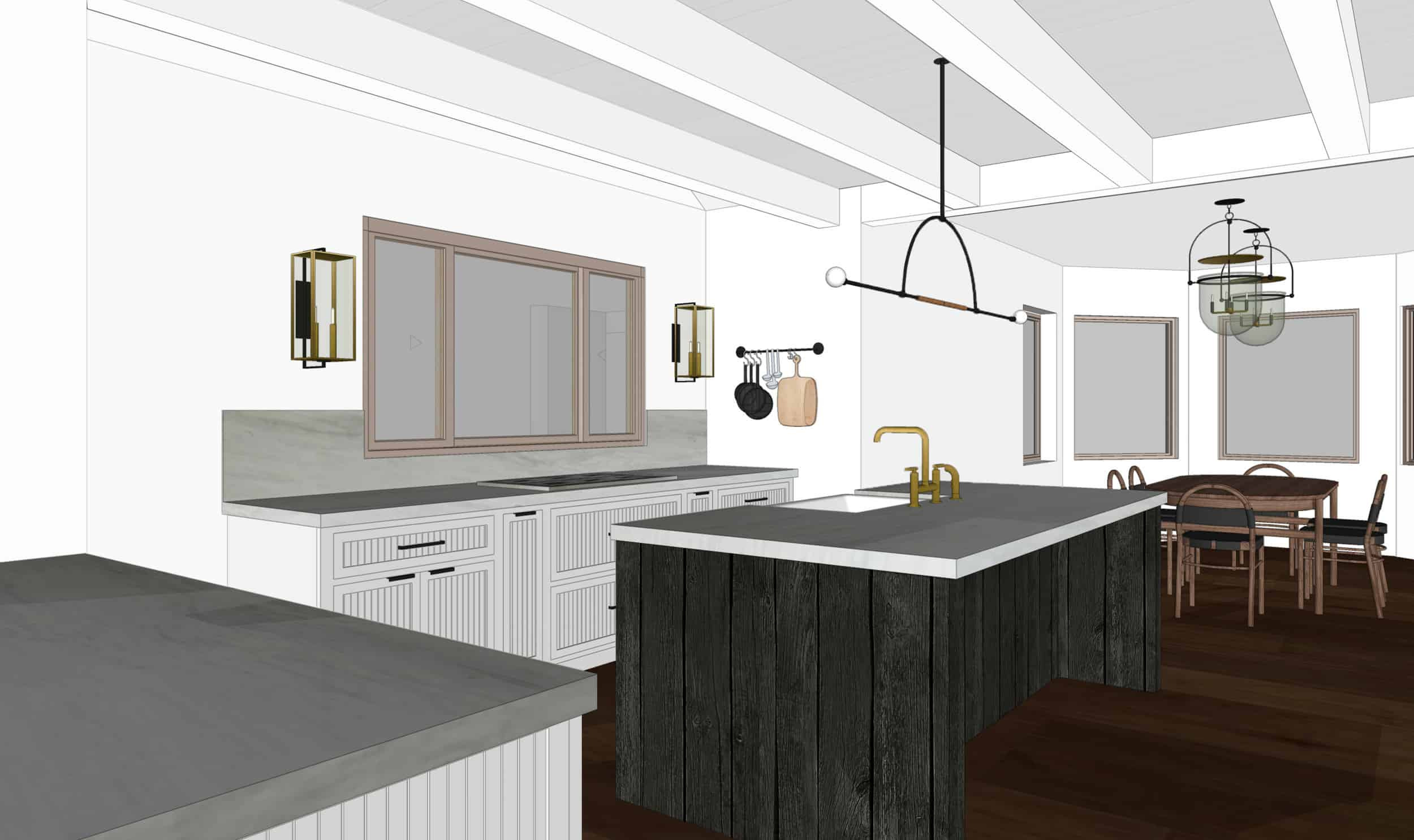 Emily Henderson Mountain Fixer Upper I Design You Decide Kitchen Render 03 Fnladj