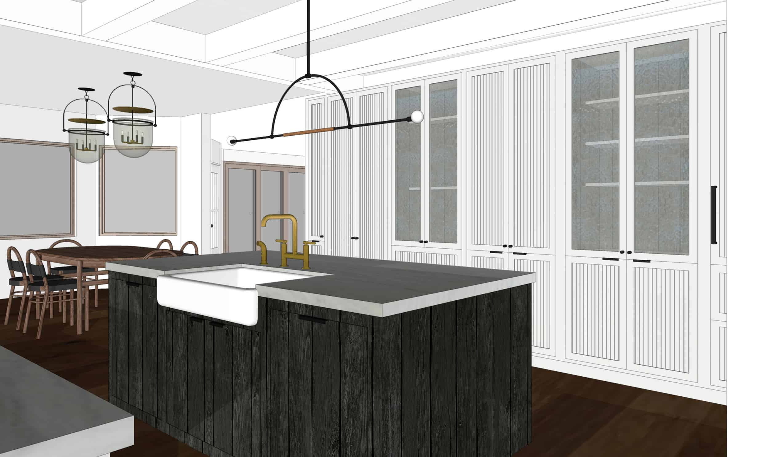 Emily Henderson Mountain Fixer Upper I Design You Decide Kitchen Render 04 Fnladj