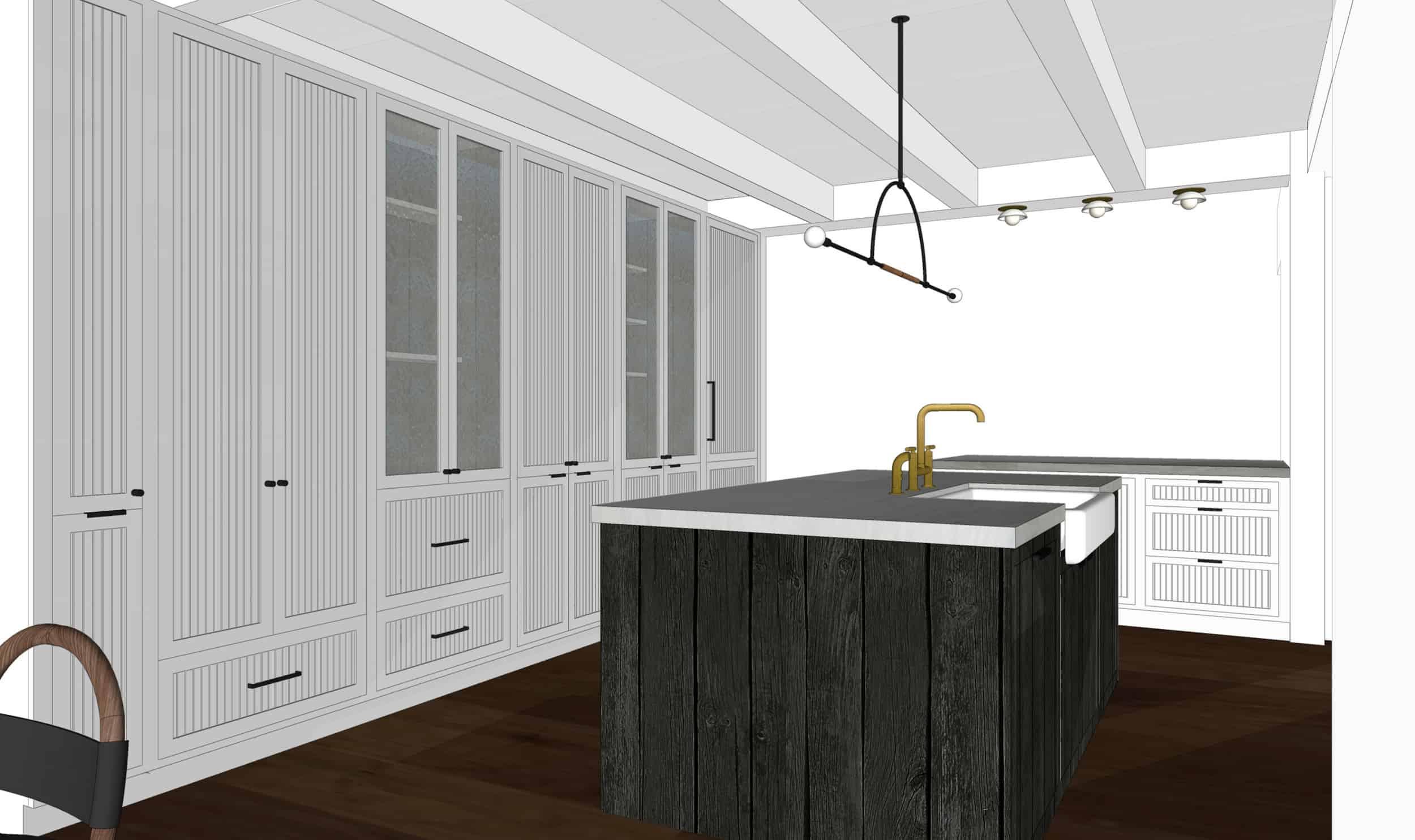 Emily Henderson Mountain Fixer Upper I Design You Decide Kitchen Render 05 Fnladj