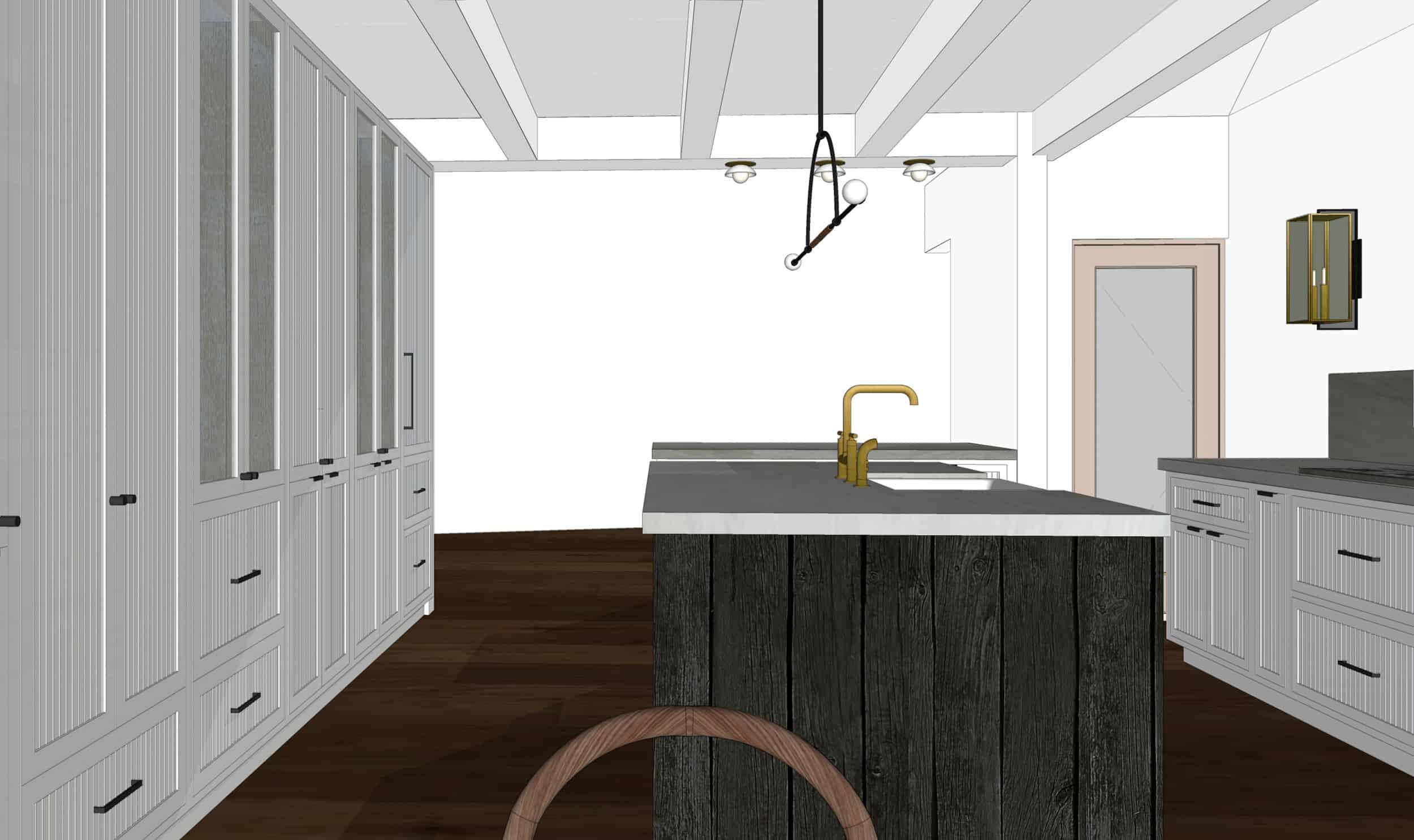 Emily Henderson Mountain Fixer Upper I Design You Decide Kitchen Render 06 Fnladj