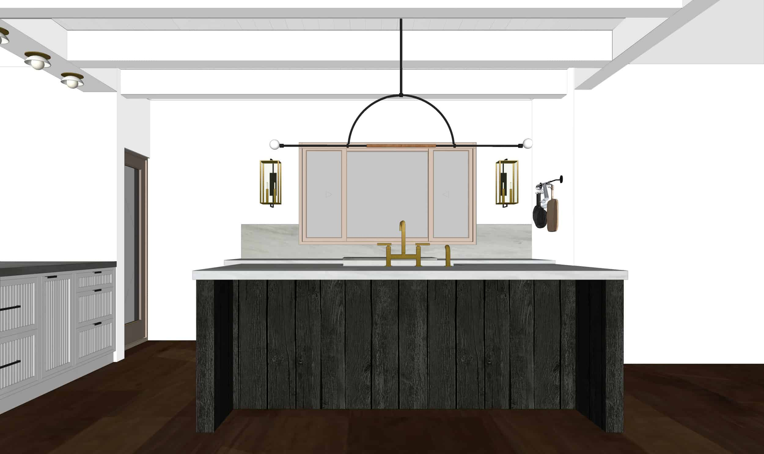 Emily Henderson Mountain Fixer Upper I Design You Decide Kitchen Render 07 Fnladj