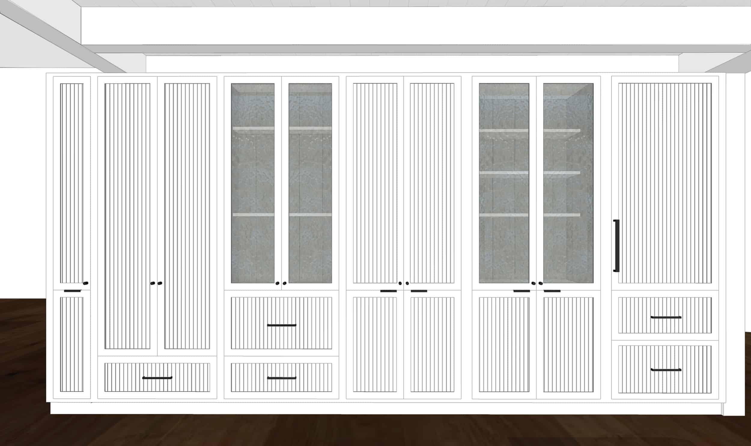 Emily Henderson Mountain Fixer Upper I Design You Decide Kitchen Render 08 Fnl