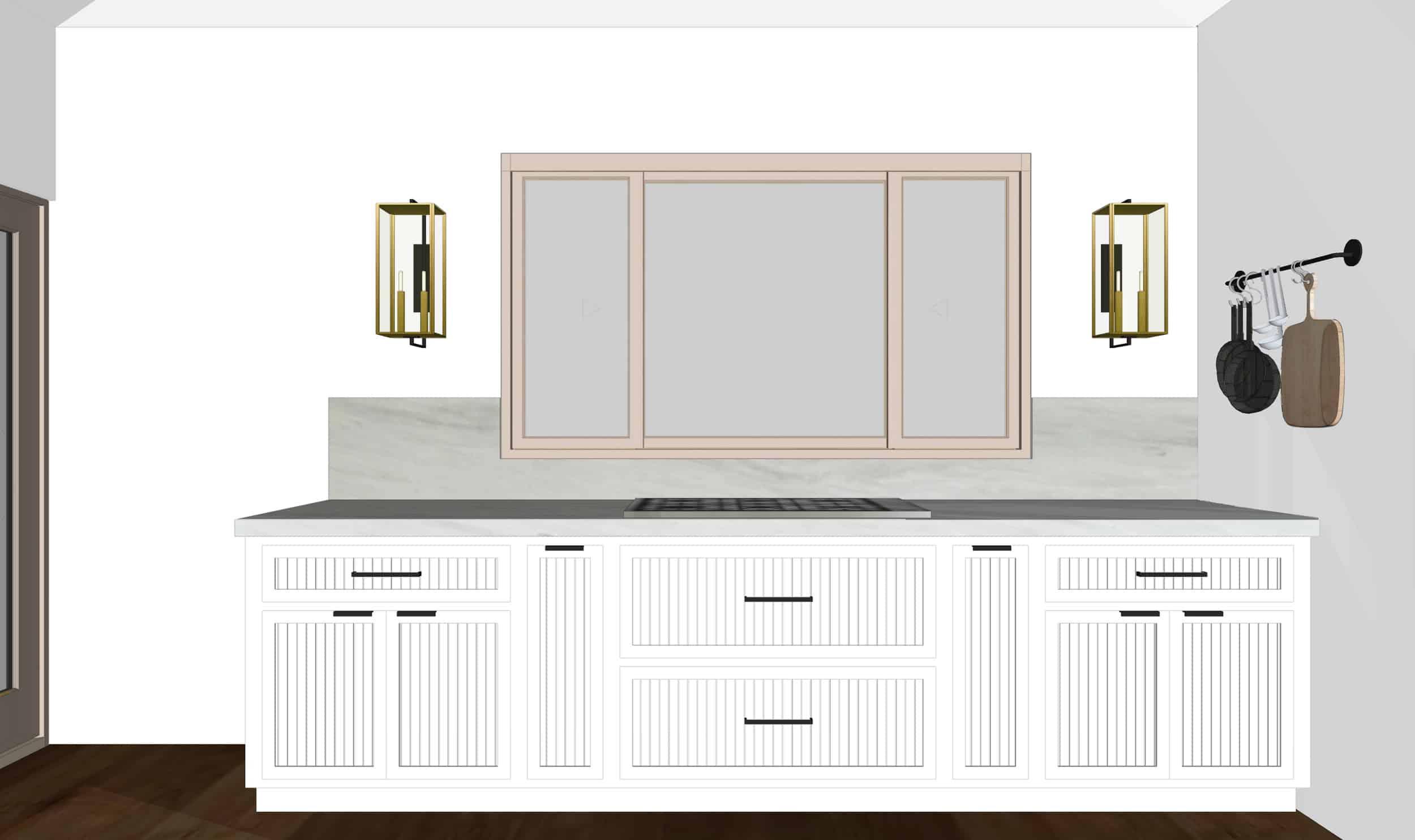 Emily Henderson Mountain Fixer Upper I Design You Decide Kitchen Render 09 Fnl
