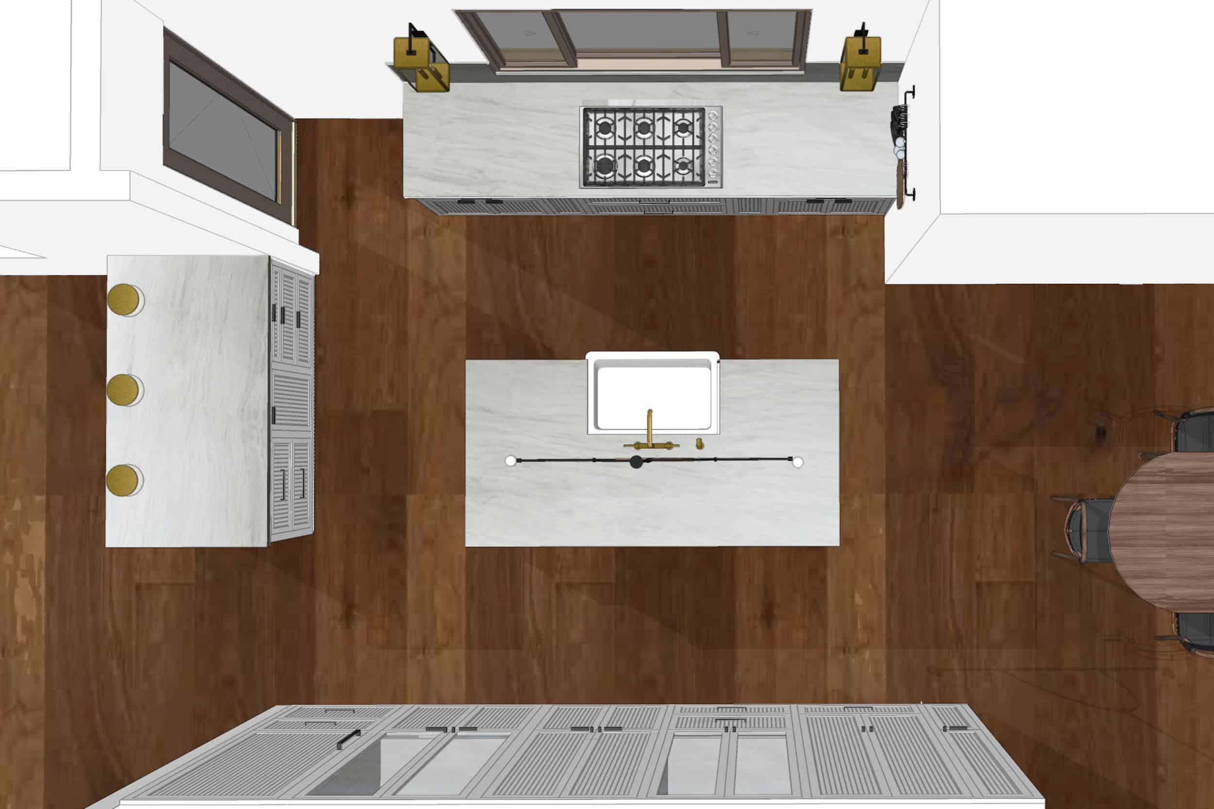 Emily Henderson Mountain Fixer Upper I Design You Decide Kitchen Render Plan Fnladjd2