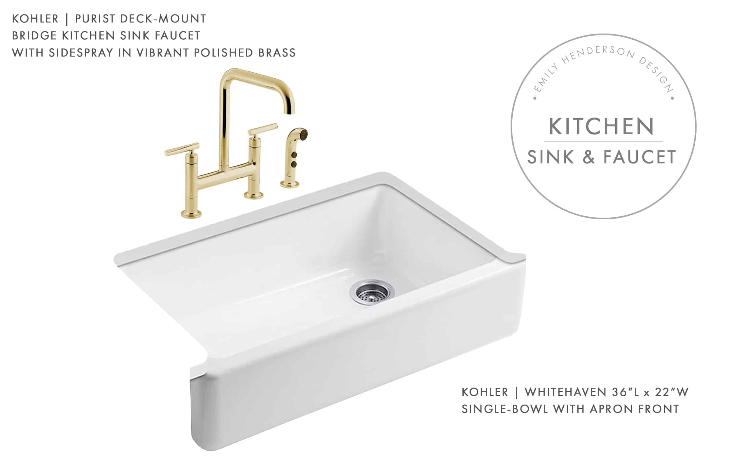 Emily Henderson Mountain Fixer Upper I Design You Decide Kitchen Sink Faucet Moodboard 01