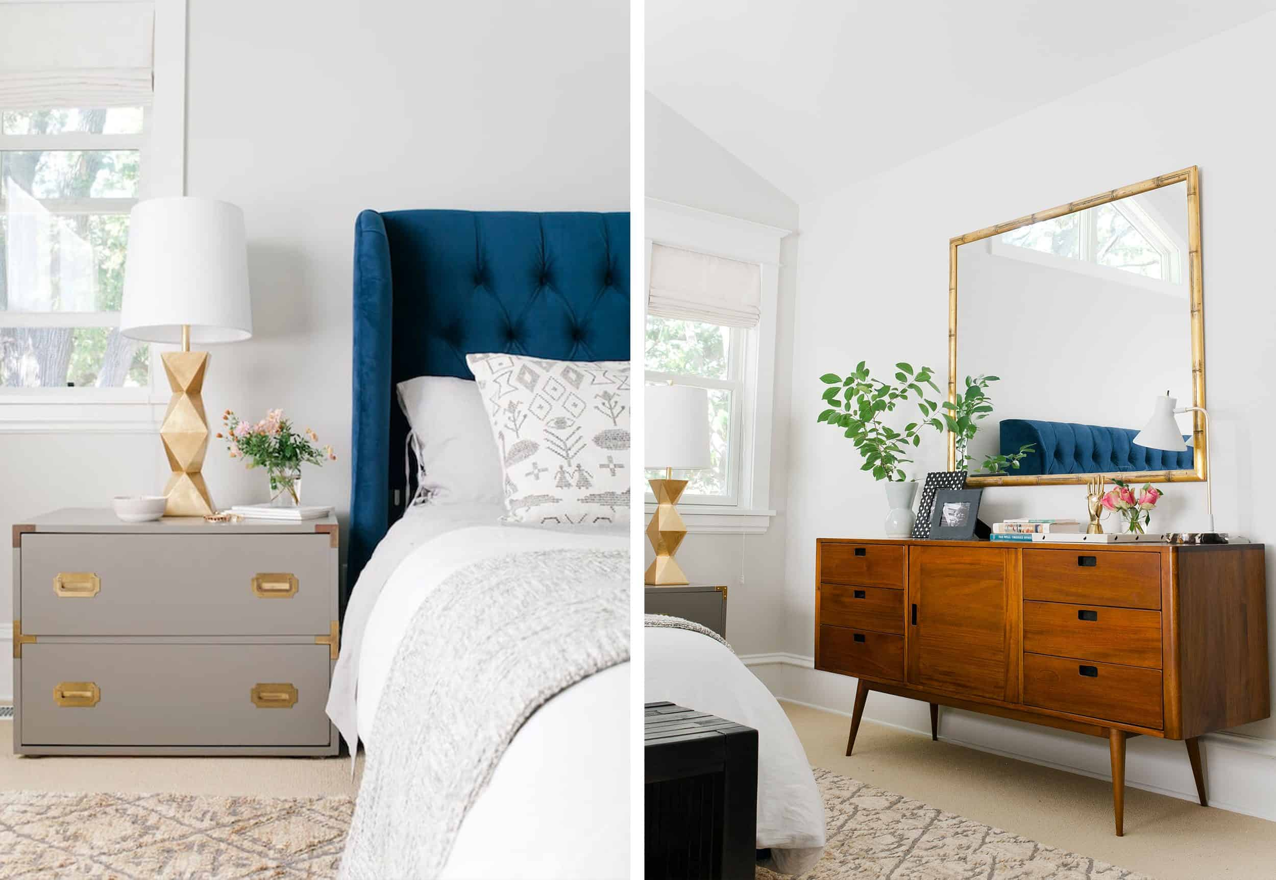 How to Pair Nightstand and Dresser