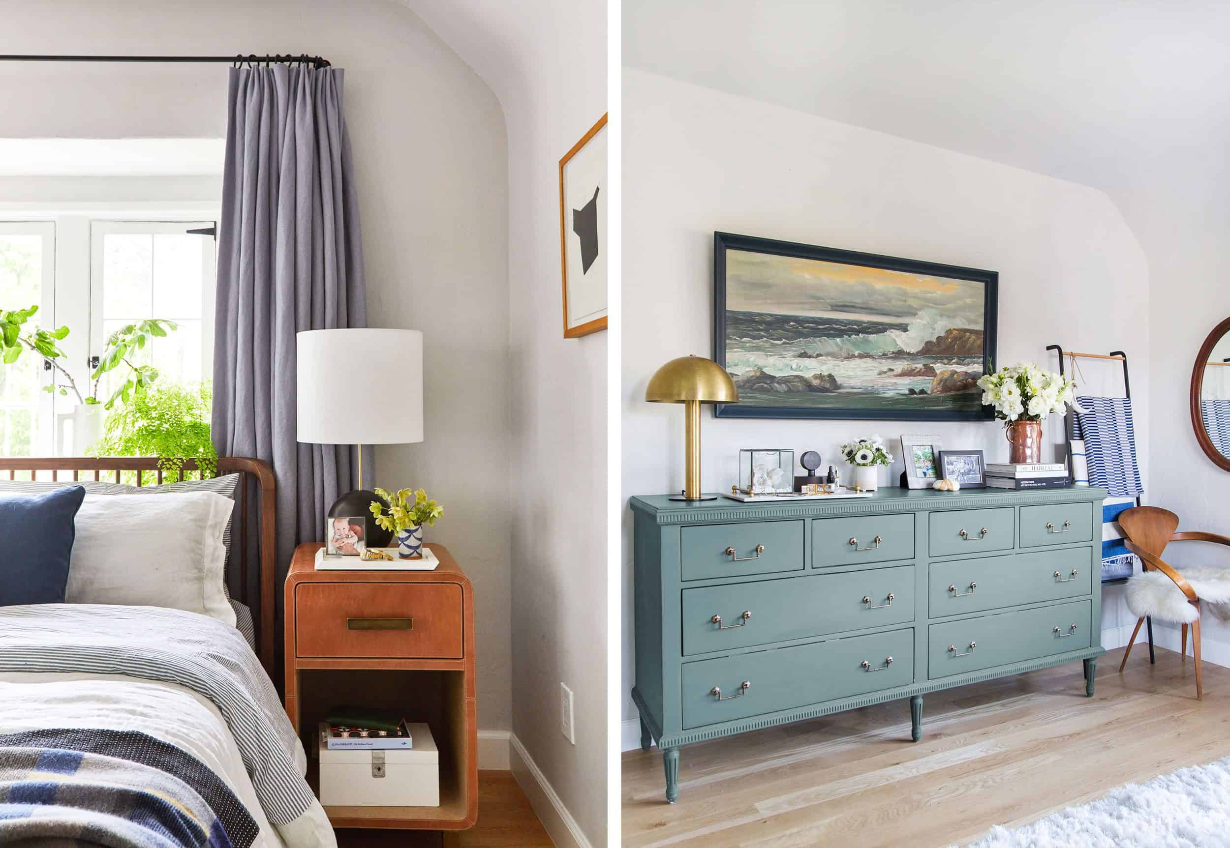 Power Couples 22 Perfect Dresser Nightstand Combos For Your Bedroom